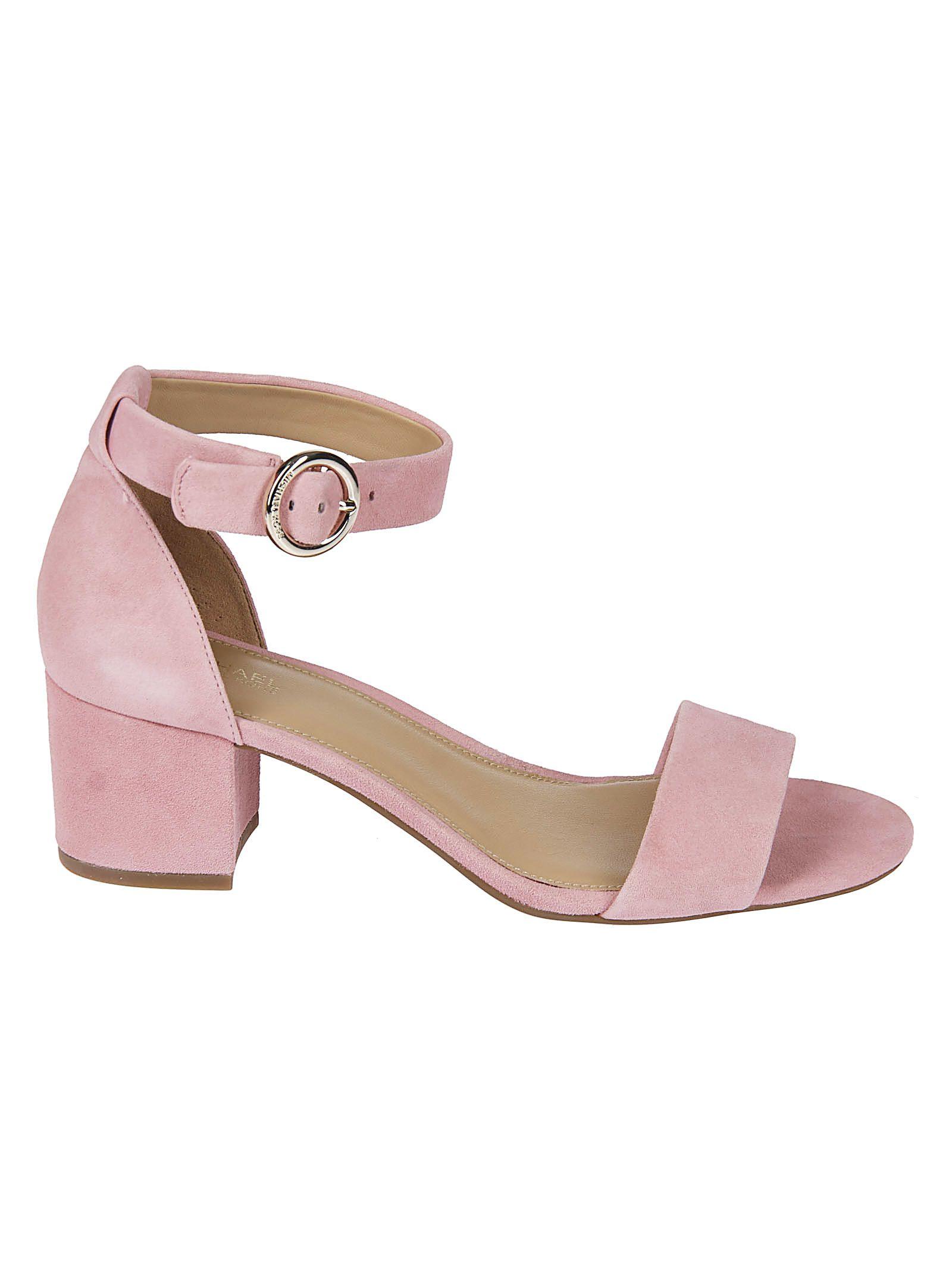 02beaaaea30 Michael Kors Michael Kors Lena Mid-heel Sandals - Pink - 10829618 ...