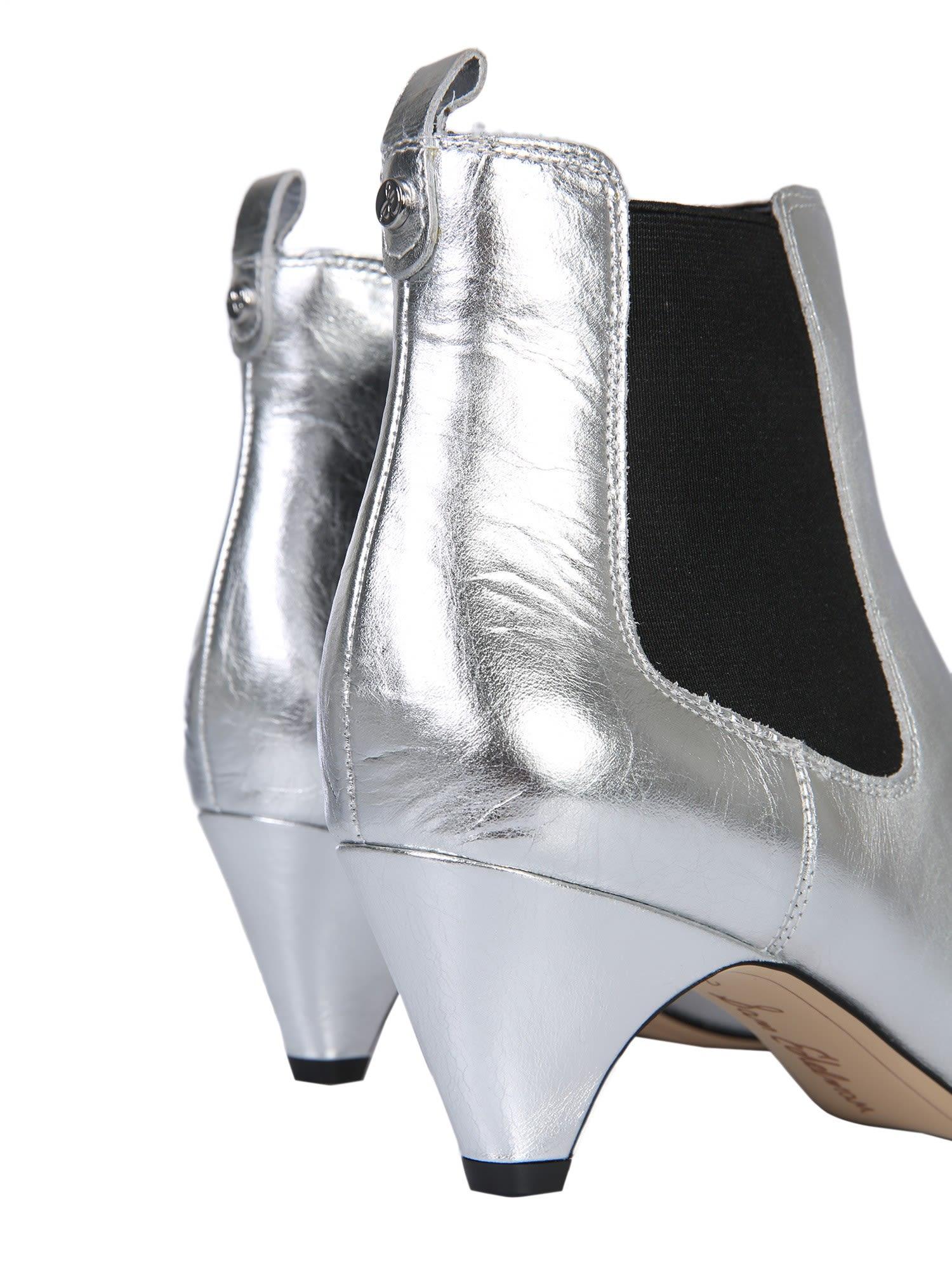 941dbf30ca4f Sam Edelman Sam Edelman Katt Ankle Boots - ARGENTO - 10715805