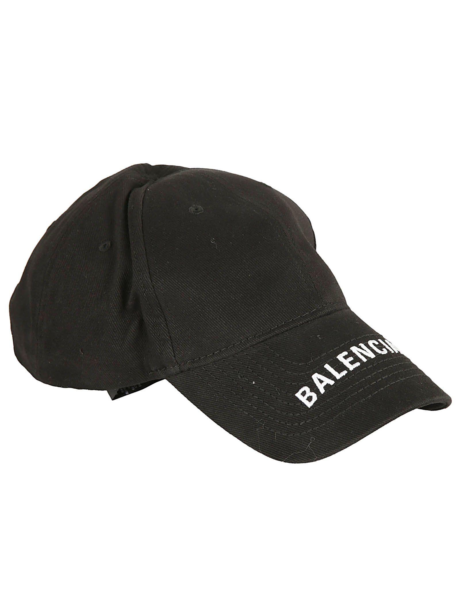 Balenciaga Balenciaga Logo Cap - Black White - 10828109  a9b084a7717