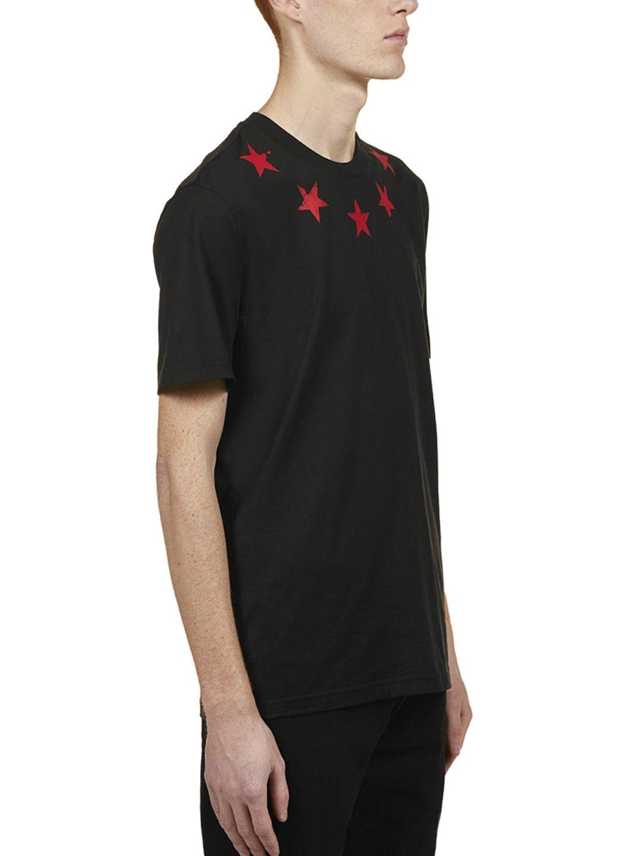 1d464773957d Givenchy Givenchy Star Printed T-shirt - Black - 10787019