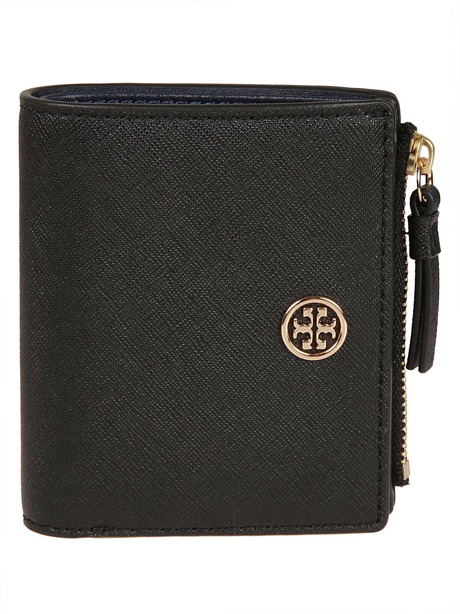 447e36310 Tory Burch Tory Burch Robinson Mini Wallet - Black - 10708683
