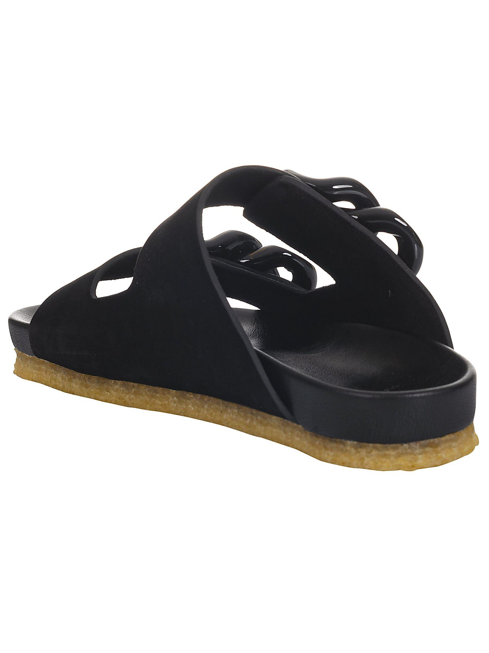 a426f6e6681 Tory Burch Tory Burch Adrien Sandals - Perfect Black - 10816384 ...