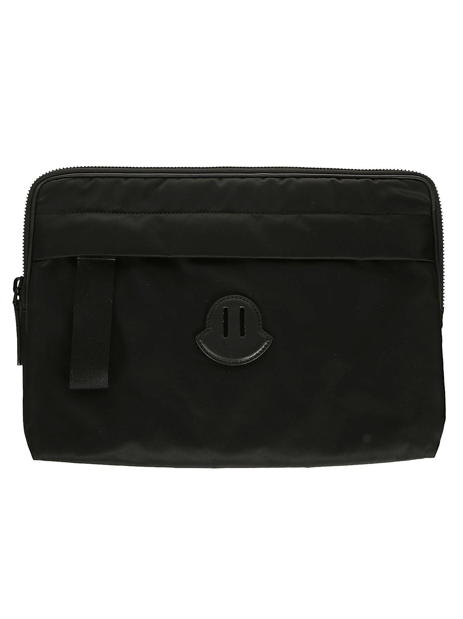 Case 10693061 Laptop Italist Moncler Black Logo Patch qSzwz6