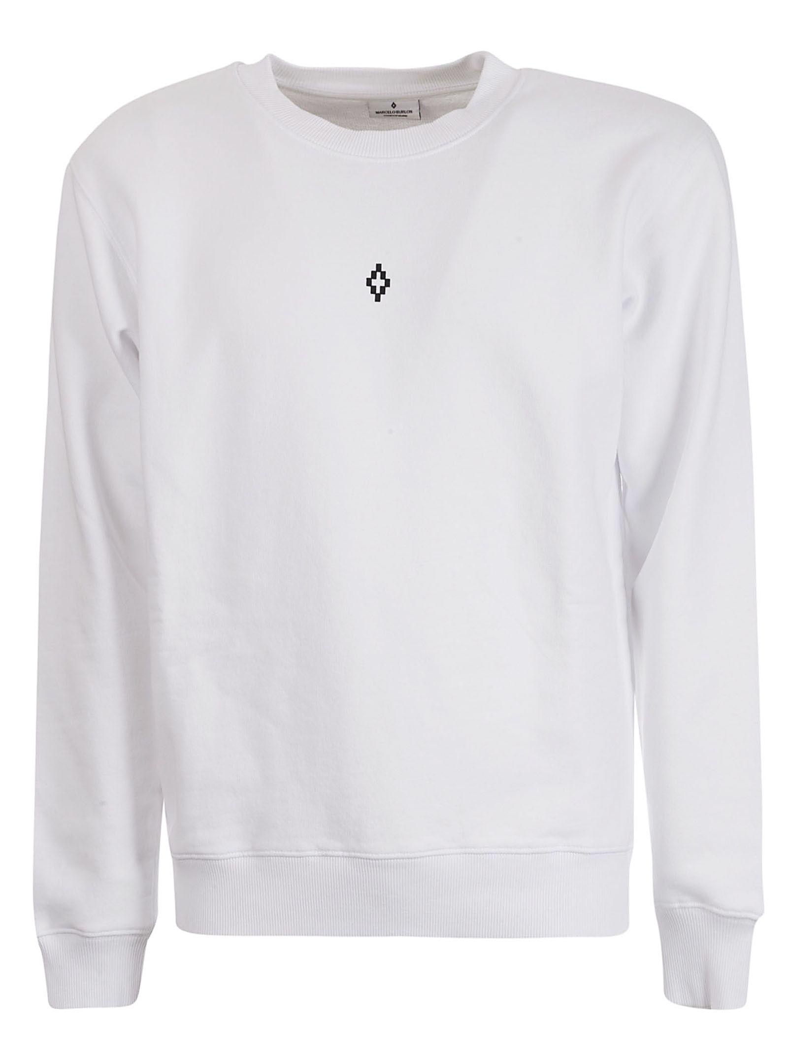 da234efc Marcelo Burlon Marcelo Burlon Wings Print Sweatshirt - White Multi ...