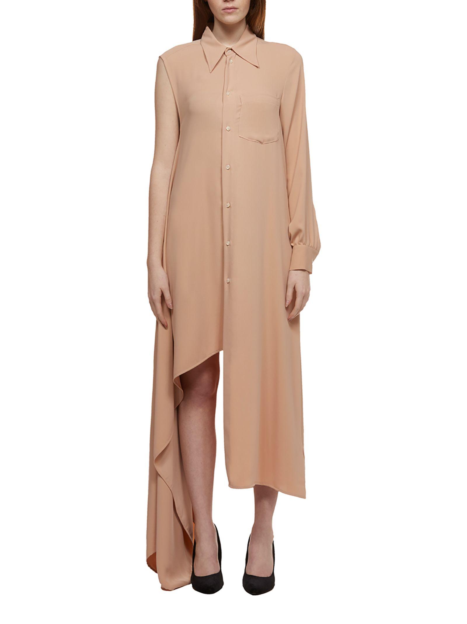 e7f0d377331ef MM6 Maison Margiela Mm6 Maison Margiela Asymmetric Shirt Dress ...