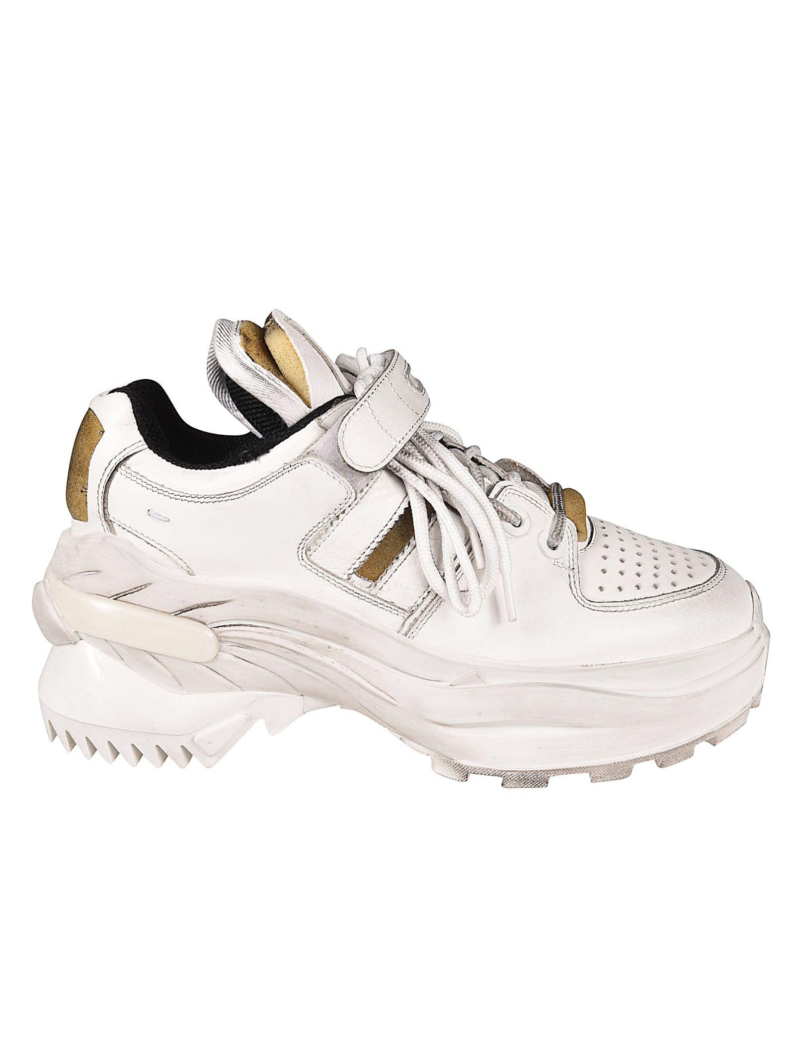 0d6d9f290b643 Maison Margiela Maison Margiela Holographic Platform Sneakers ...