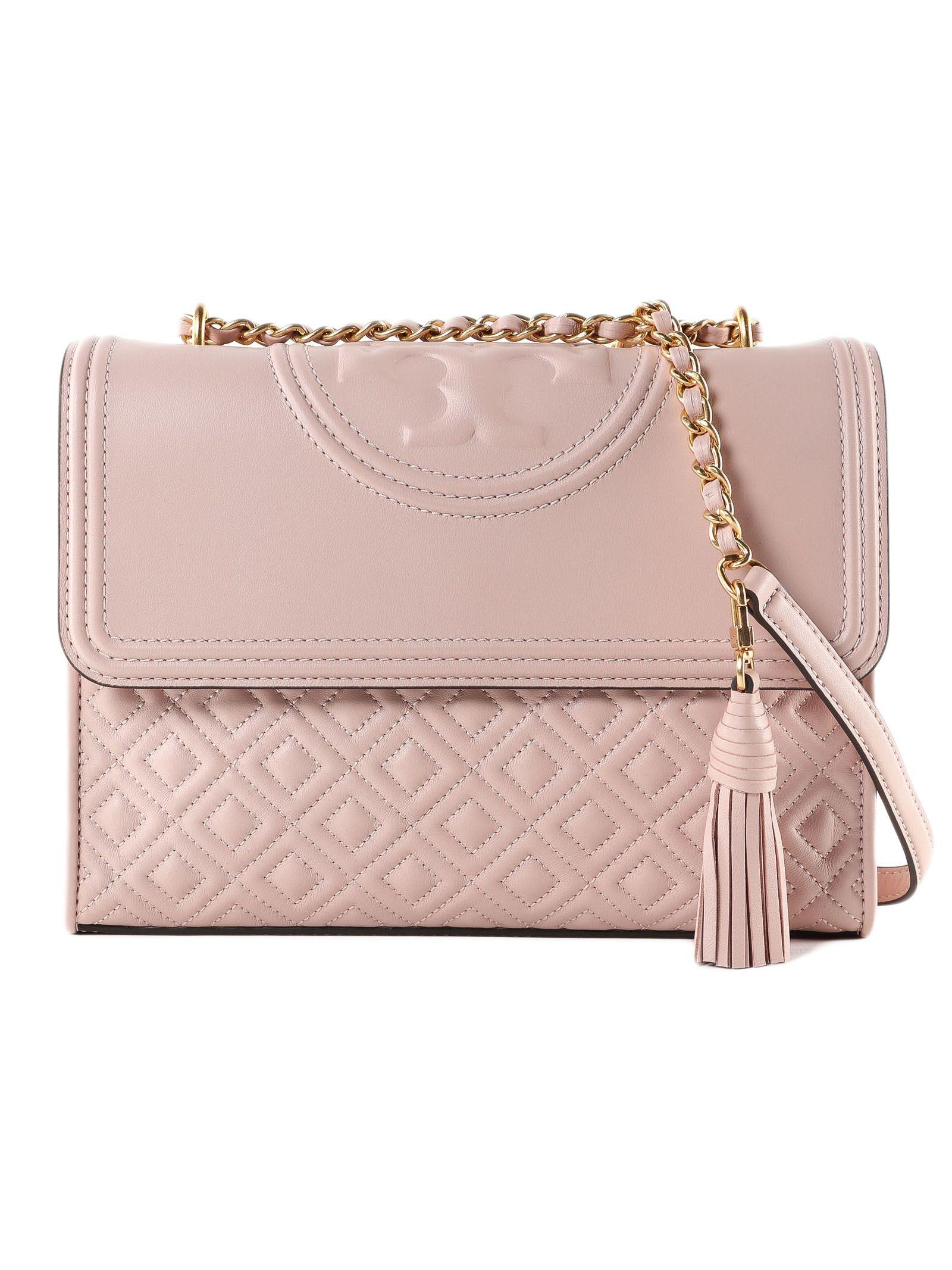 d2e224b7c9f Tory Burch Tory Burch Fleming Convertible Shoulder Bag - Shell Pink ...
