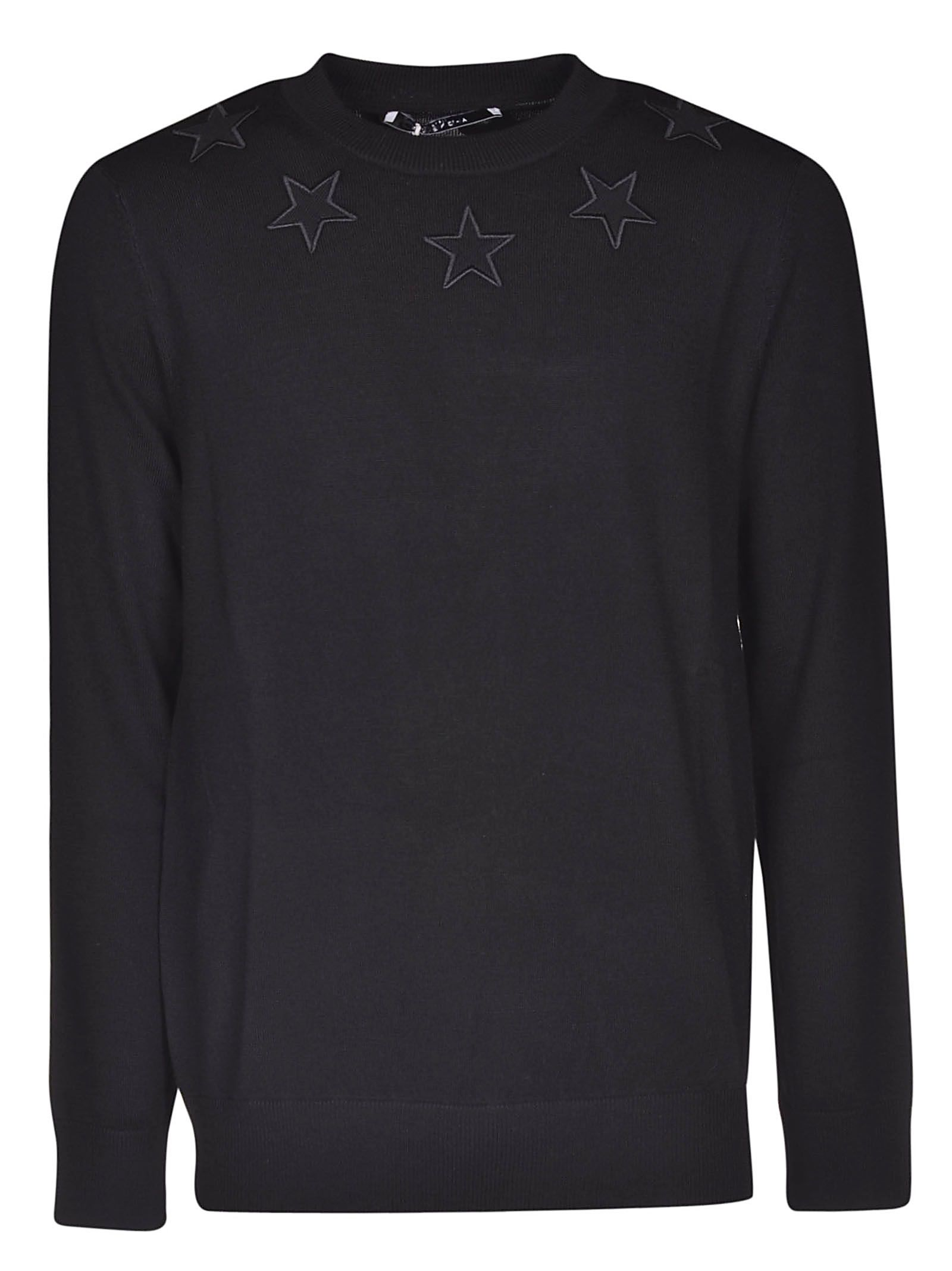 304c7067696f6 Givenchy Givenchy Star Applique Jumper - Black - 10851888