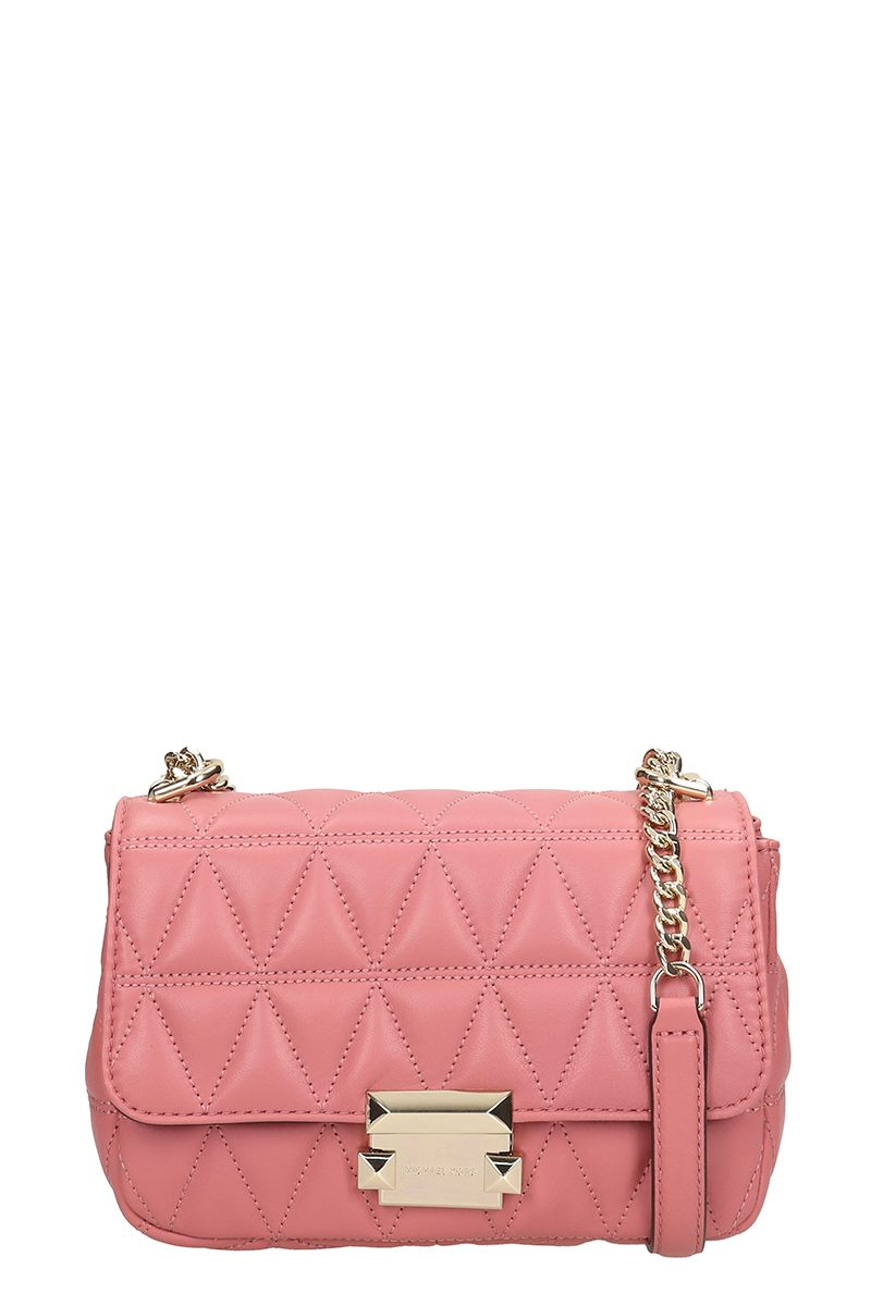 178b2ba6014f Michael Kors Michael Kors Sloan Small Quilted-leather Shoulder Bag ...