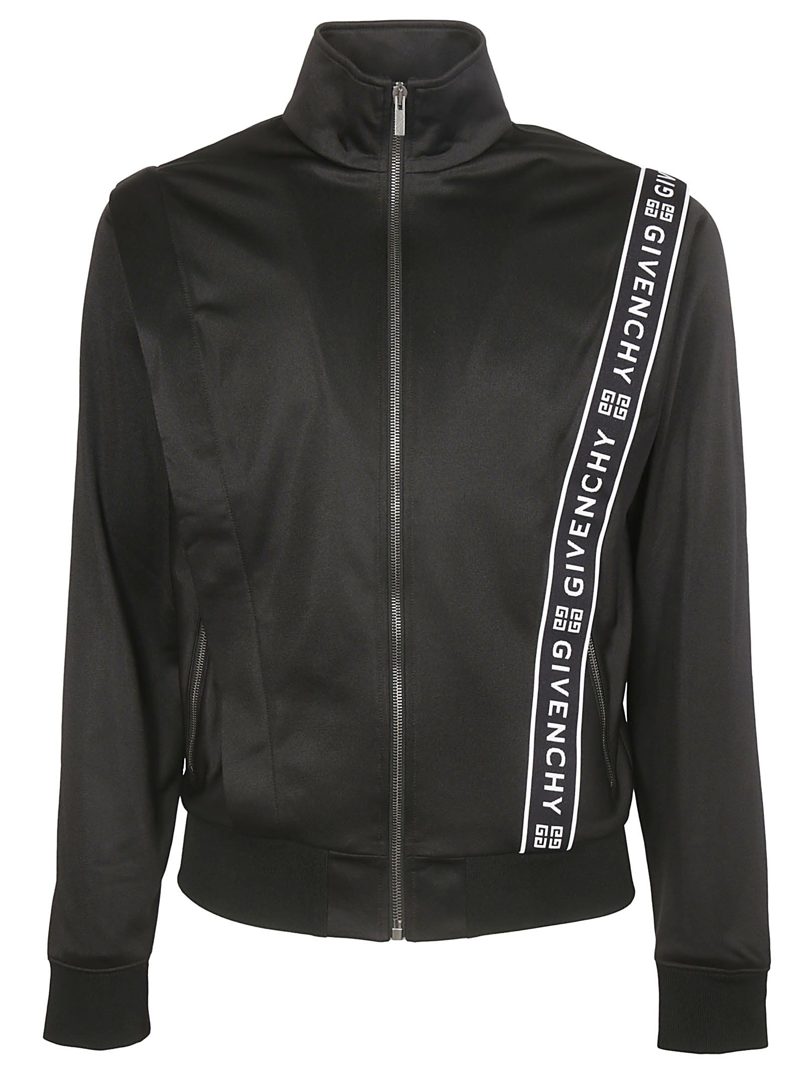 05a48c542 Givenchy Givenchy Logo Band Track Jacket - BLACK - 10860160