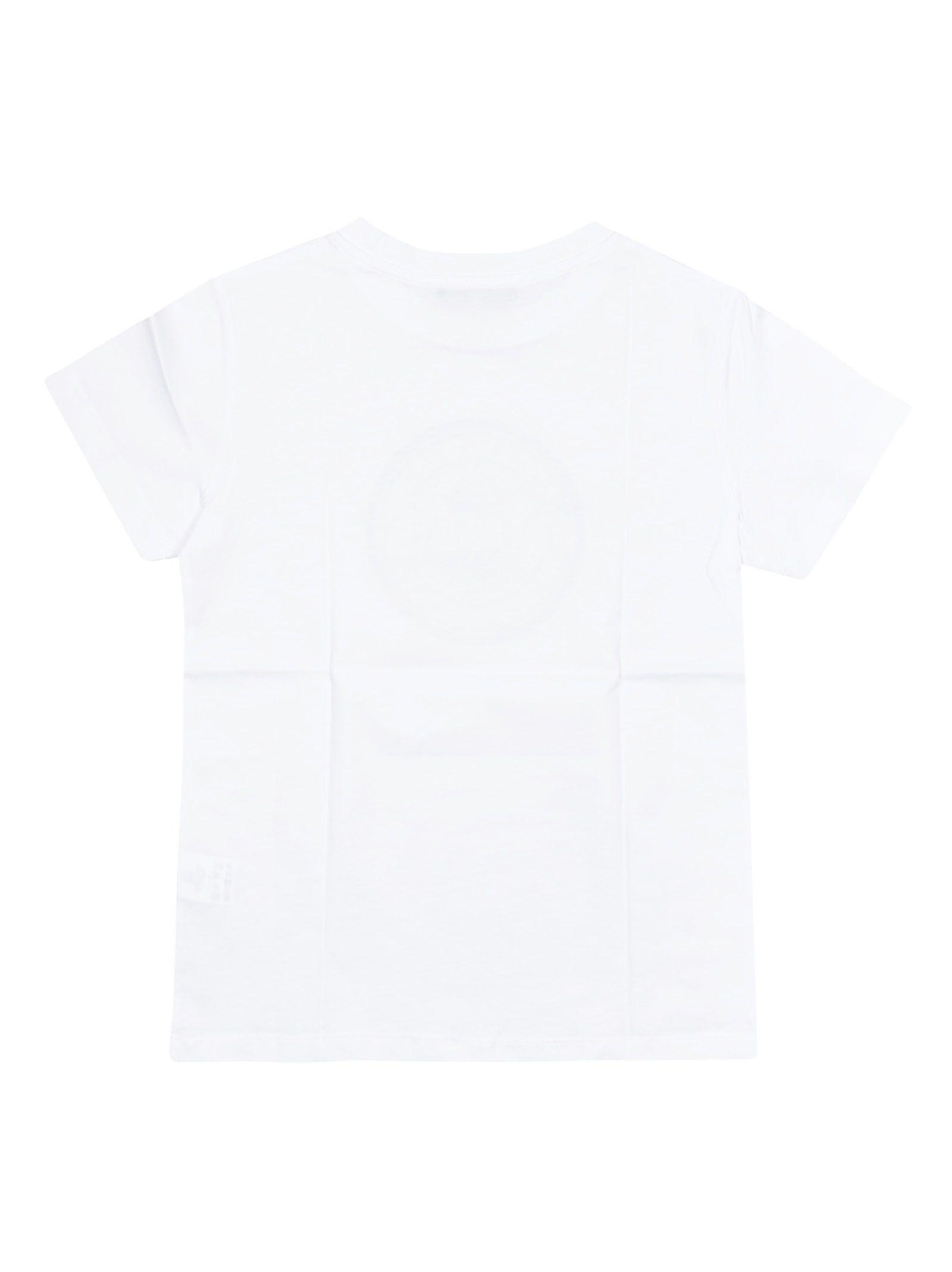 4ad2d04b5 Balmain Balmain Kids Printed Short Sleeves T-shirt - White ...