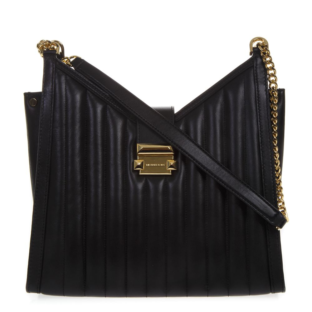 e382e8545ff802 MICHAEL Michael Kors MICHAEL Michael Kors Black Whitney Quilted ...
