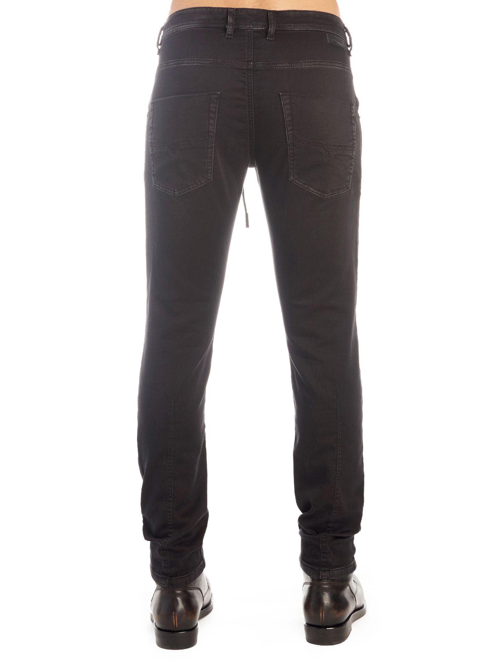 66ea61e4 Diesel Diesel 'krooley-cb' Jeans - Black - 10814454 | italist