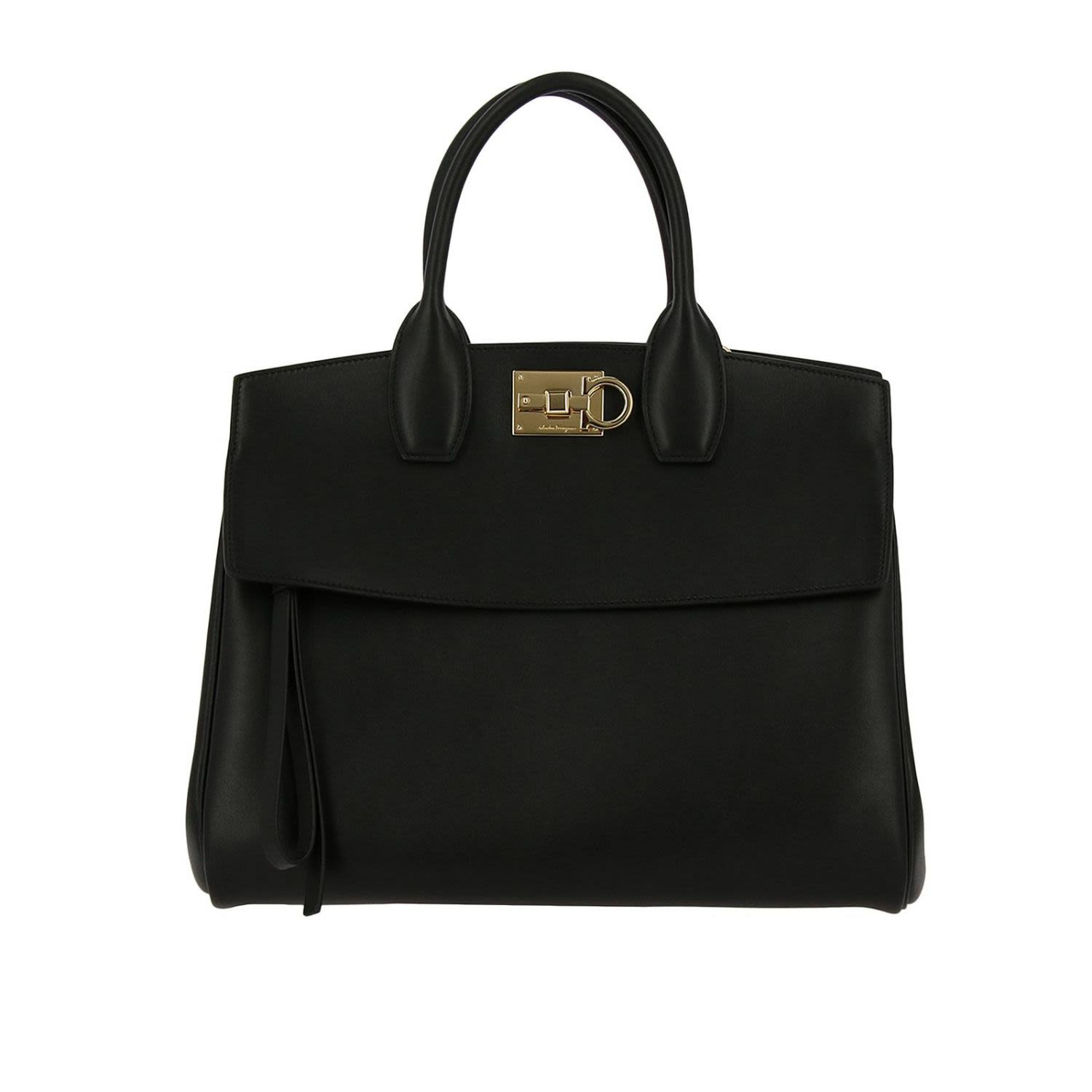 Salvatore ferragamo handbag shoulder bag women salvatore ferragamo black  jpg 1500x1500 Salvatore ferragamo black handbags eef76433bfa3c