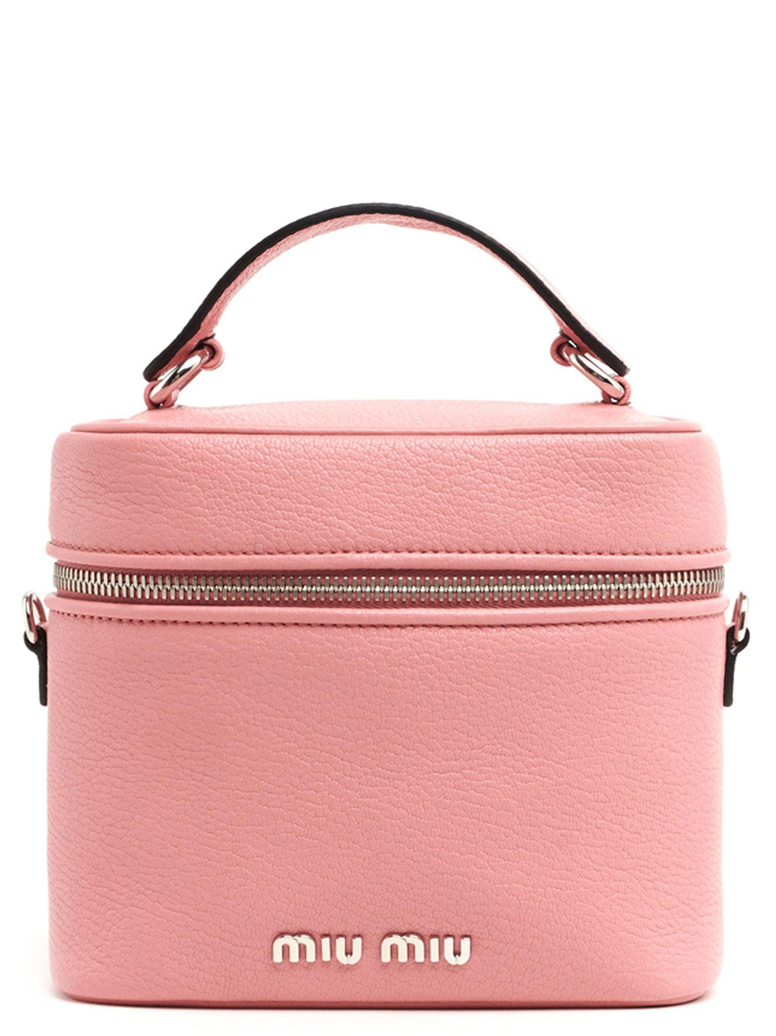 Miu Miu Miu Miu  bucket  Bag - Pink - 10807314  855c9e25fb4f3