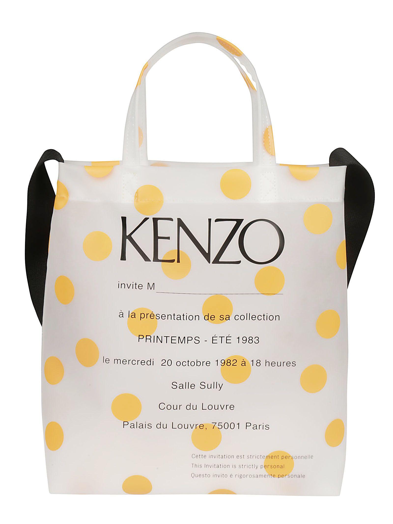 a619e237cf Kenzo Kenzo Printed Shopper Bag - Medium orange - 10848634 | italist