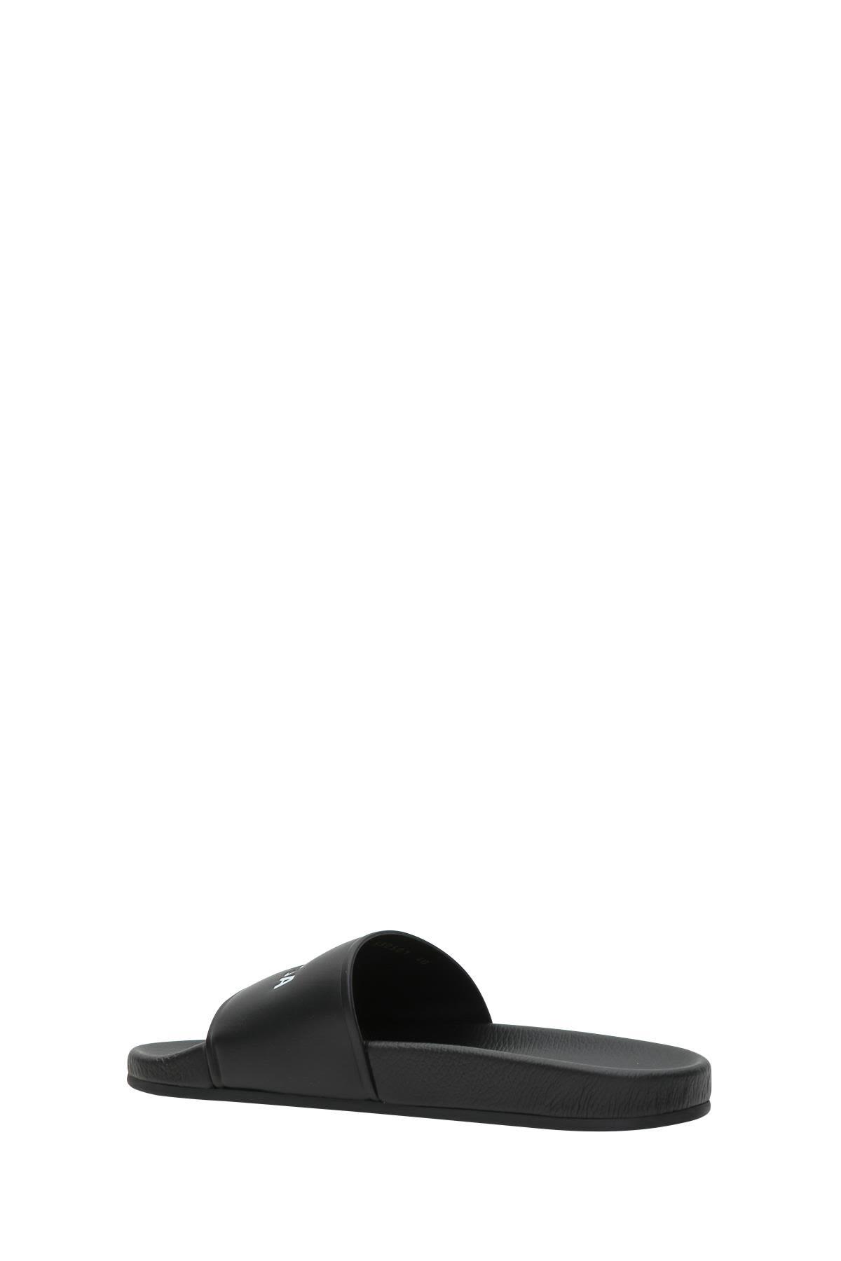 46a261403b8d Balenciaga Balenciaga Piscine Flat Sandals - Nero bianco - 10889271 ...