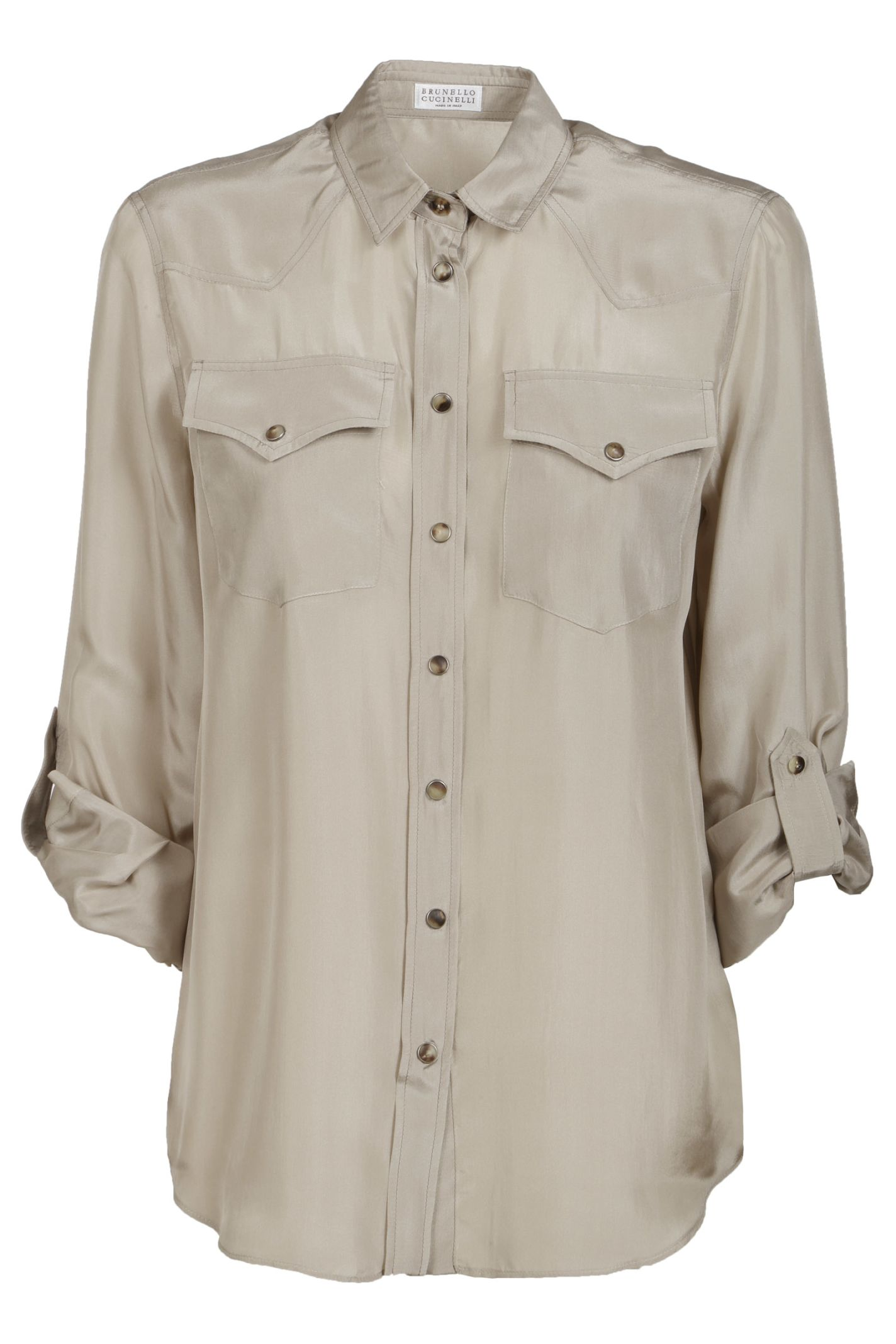 946a531fcd0d0d Brunello Cucinelli Brunello Cucinelli Western Shirt - Basic ...