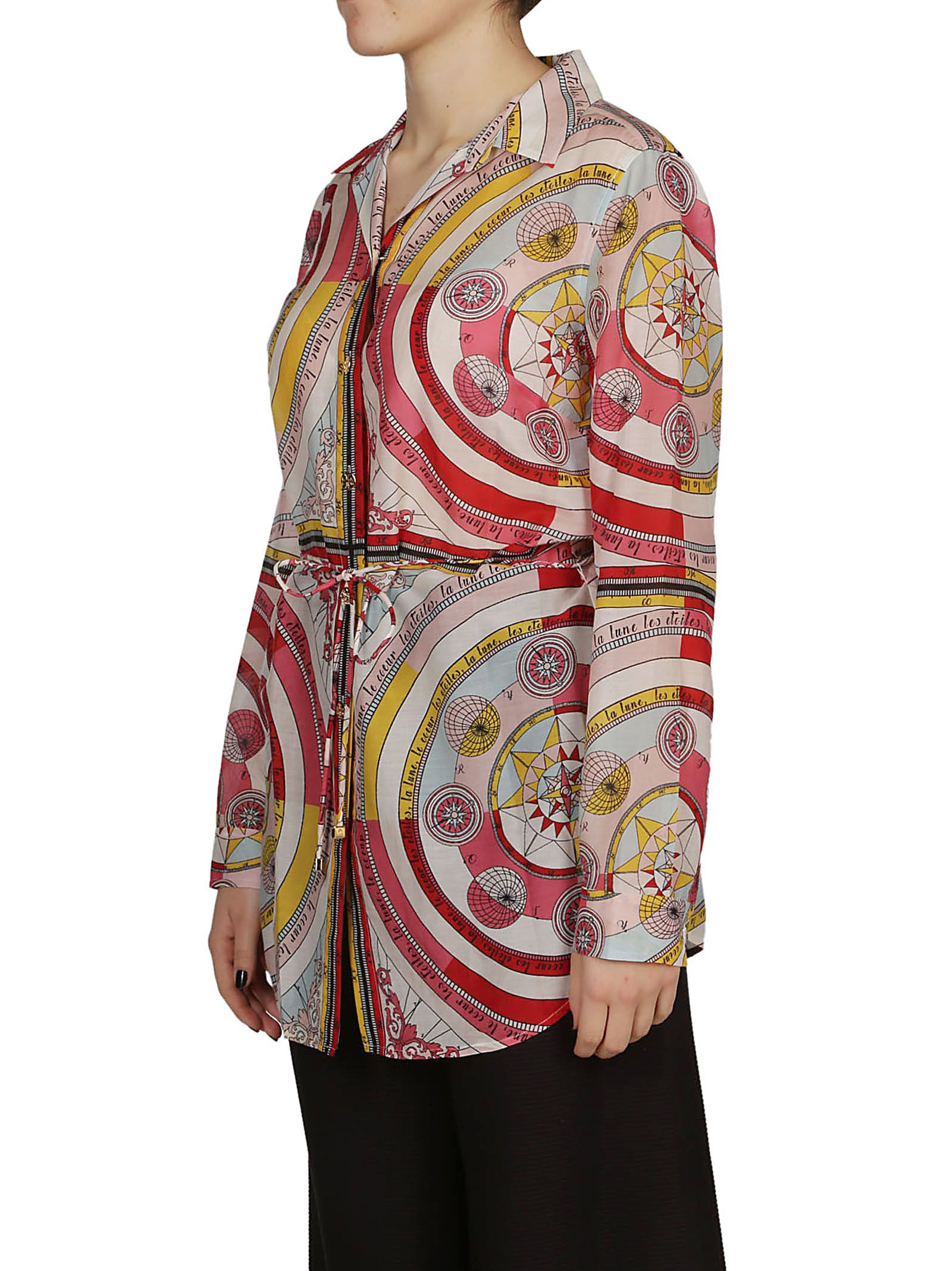 18236a13252 Tory Burch Tory Burch Printed Long Shirt - Fantasia - 10788277