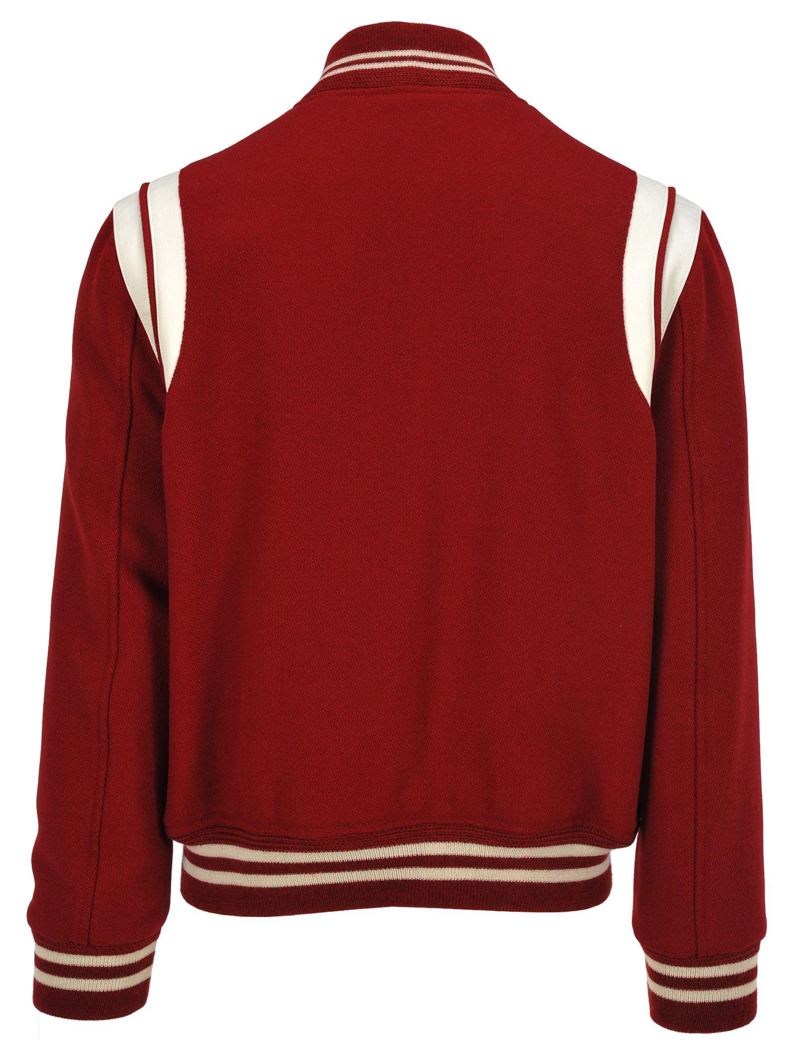 113a51309c7 Saint Laurent Saint Laurent Teddy Red - Red - 10830783
