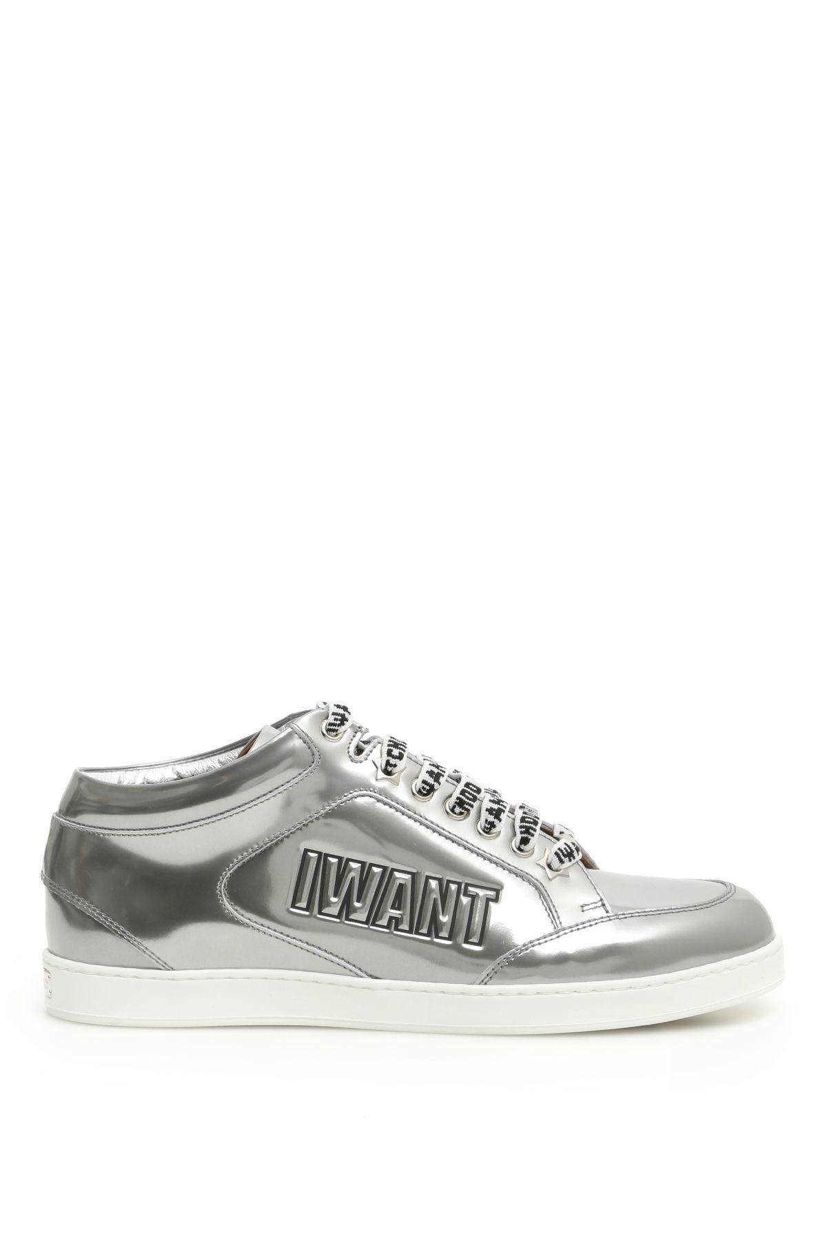 0d982ba2f2ff Jimmy Choo Jimmy Choo Miami Logo Sneakers - Basic - 10783293