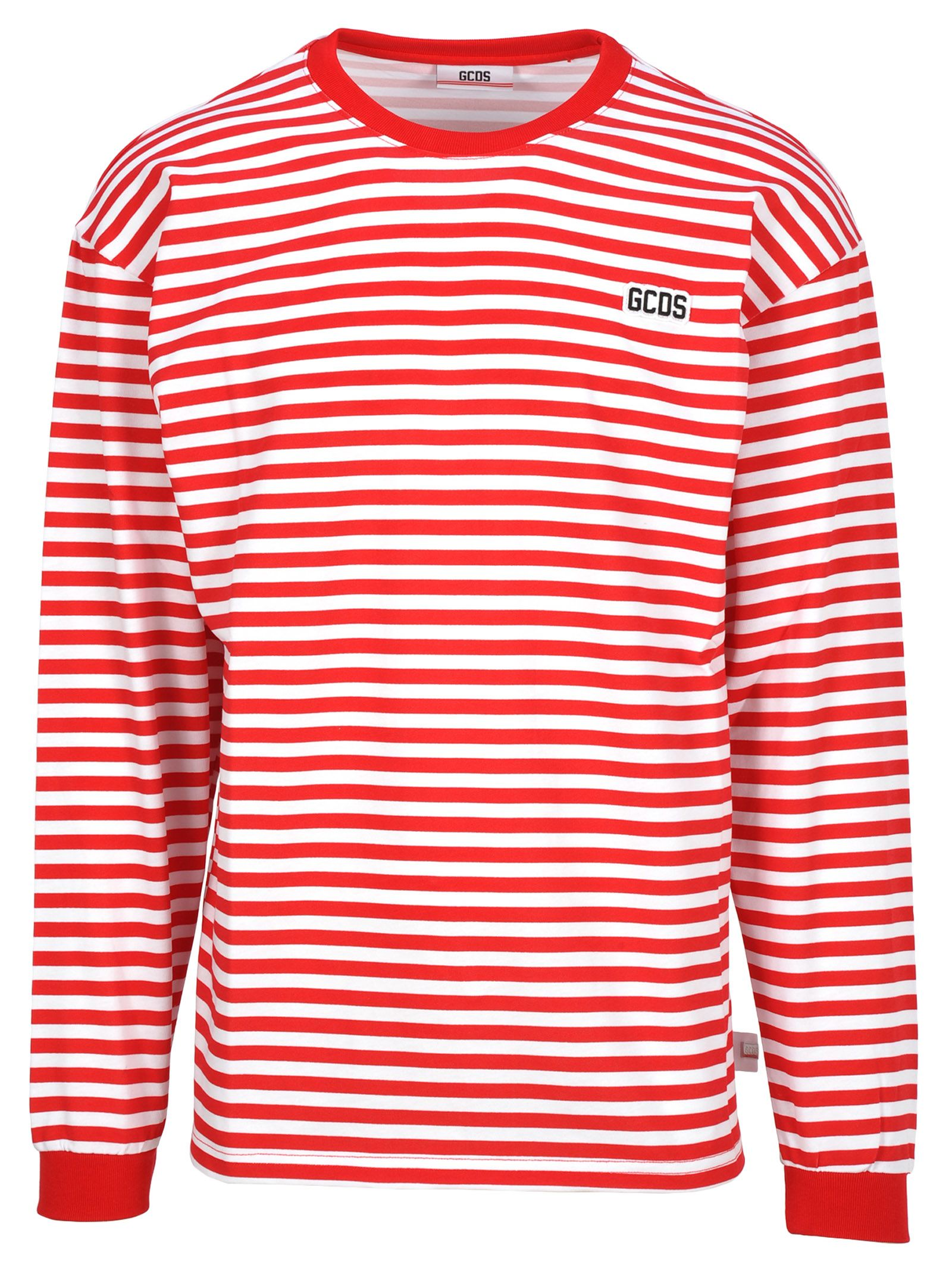 ed17dfc2f7 GCDS Gcds Gcds Striped Long Sleeves T-shirt - RED - 10822262 | italist