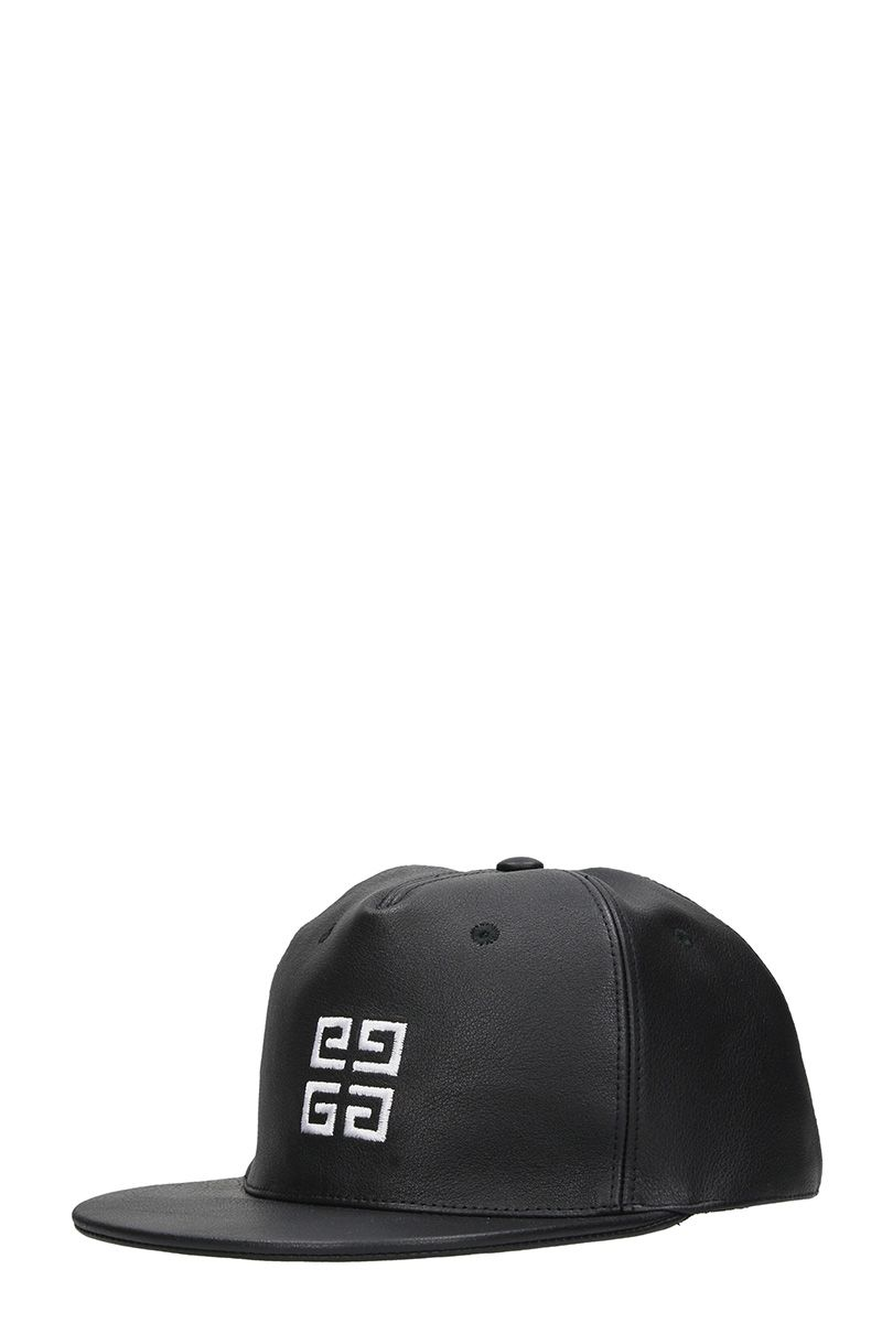Givenchy Black Leather Hat - black Givenchy Black Leather Hat - black ... ae0ed5478b8