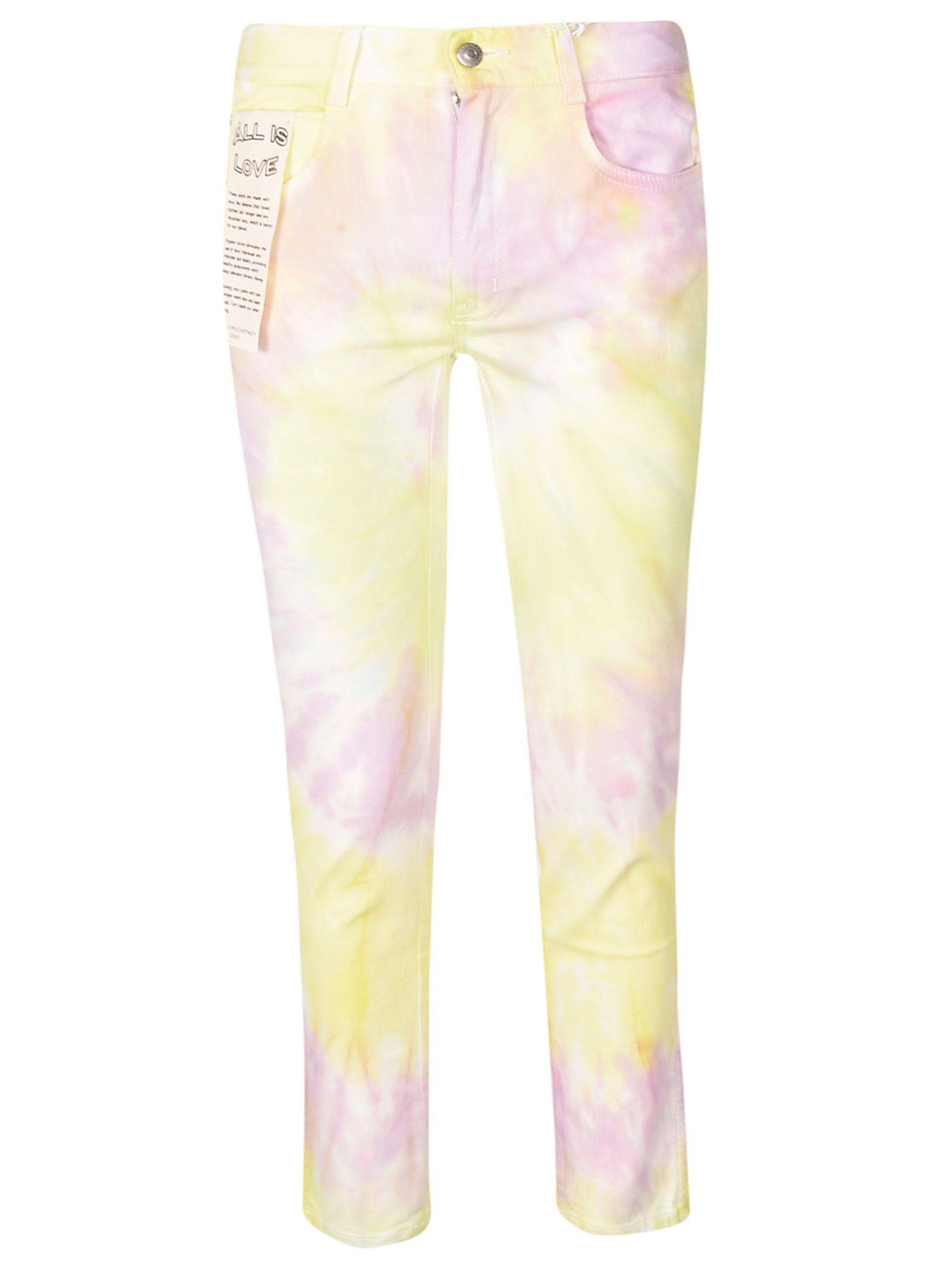Stella Mccartney Jeans Stella McCartney Tie-dye Print Jeans