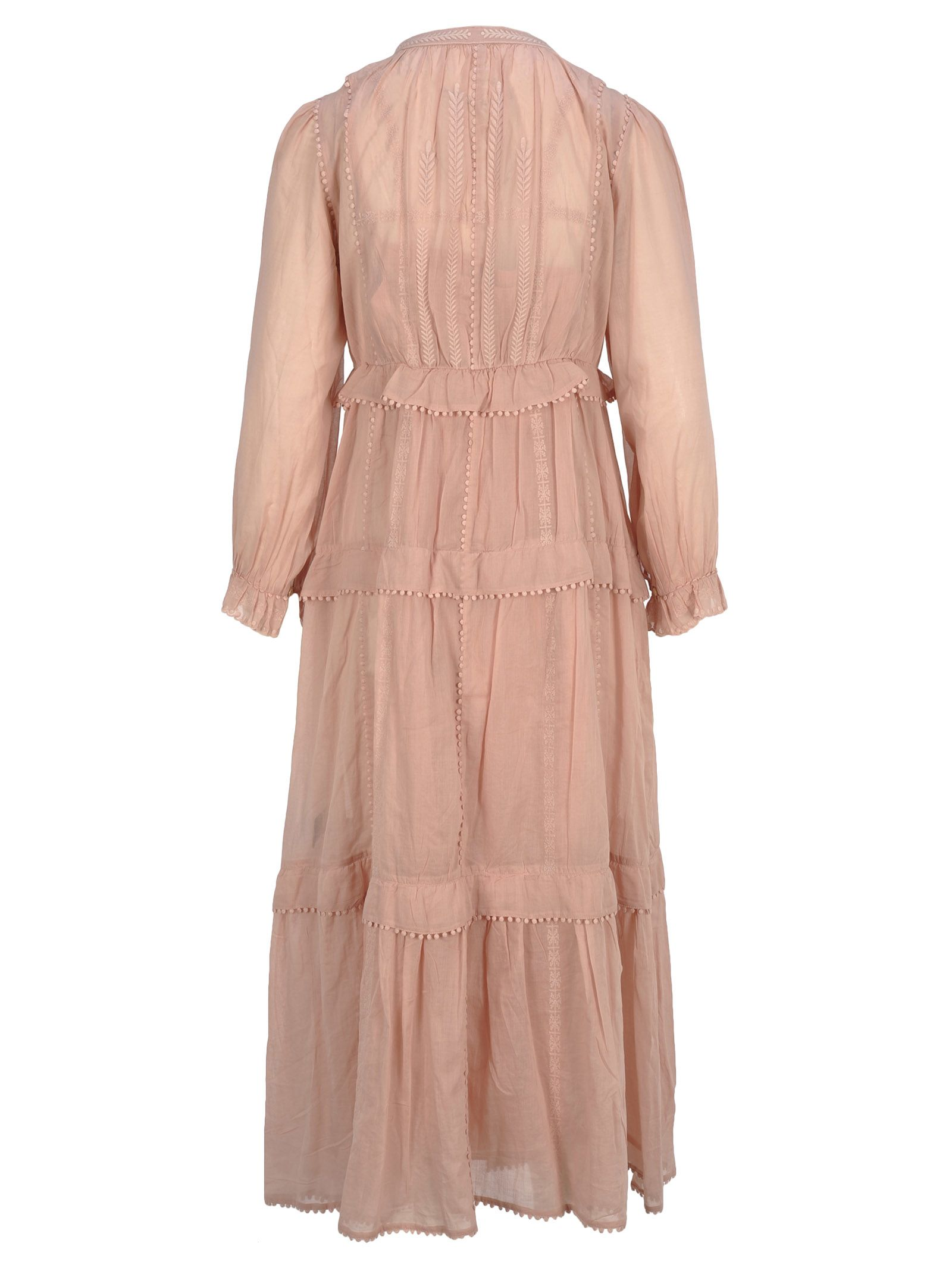 853e122aad753 Isabel Marant Étoile Im Etoile Aboni Long Dress - Pink - 10816144 ...