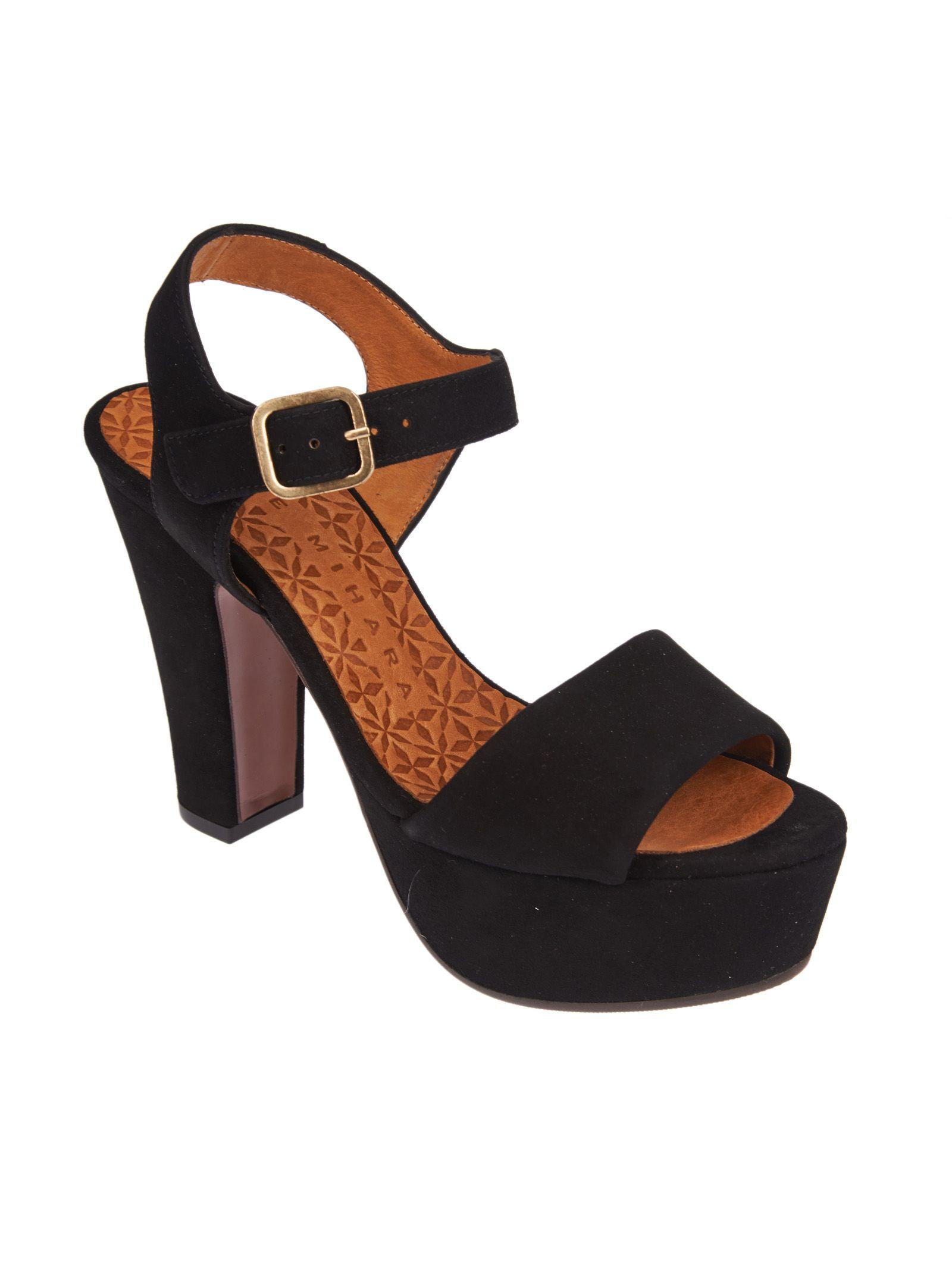 ad8ce00f6cd Chie Mihara Chie Mihara Xarco Platform Sandals - Black - 10532956 ...