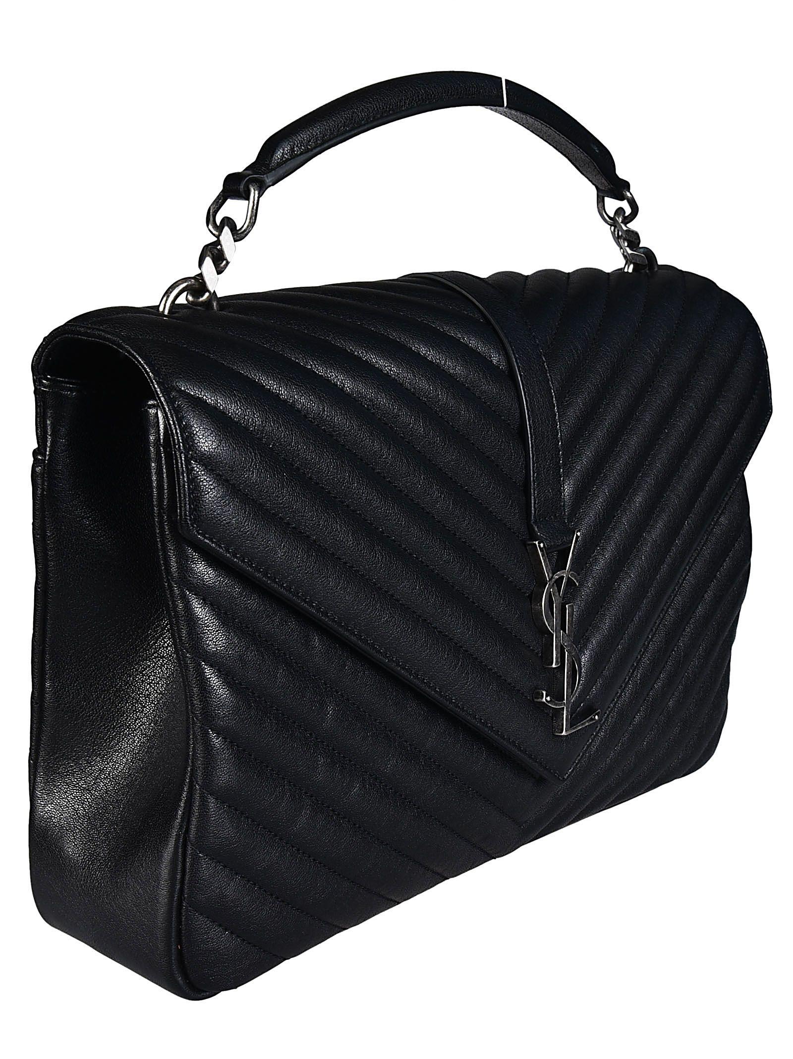 c2a0b84bbd Saint Laurent Saint Laurent Medium College Monogram Shoulder Bag ...