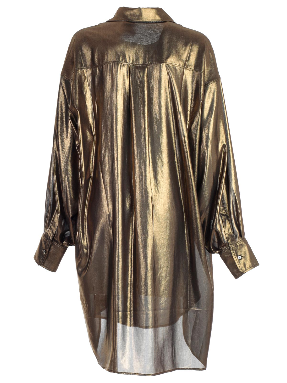 d792d7a4fb Faith Connexion Oversized Shirt - Gold Faith Connexion Oversized Shirt -  Gold ...