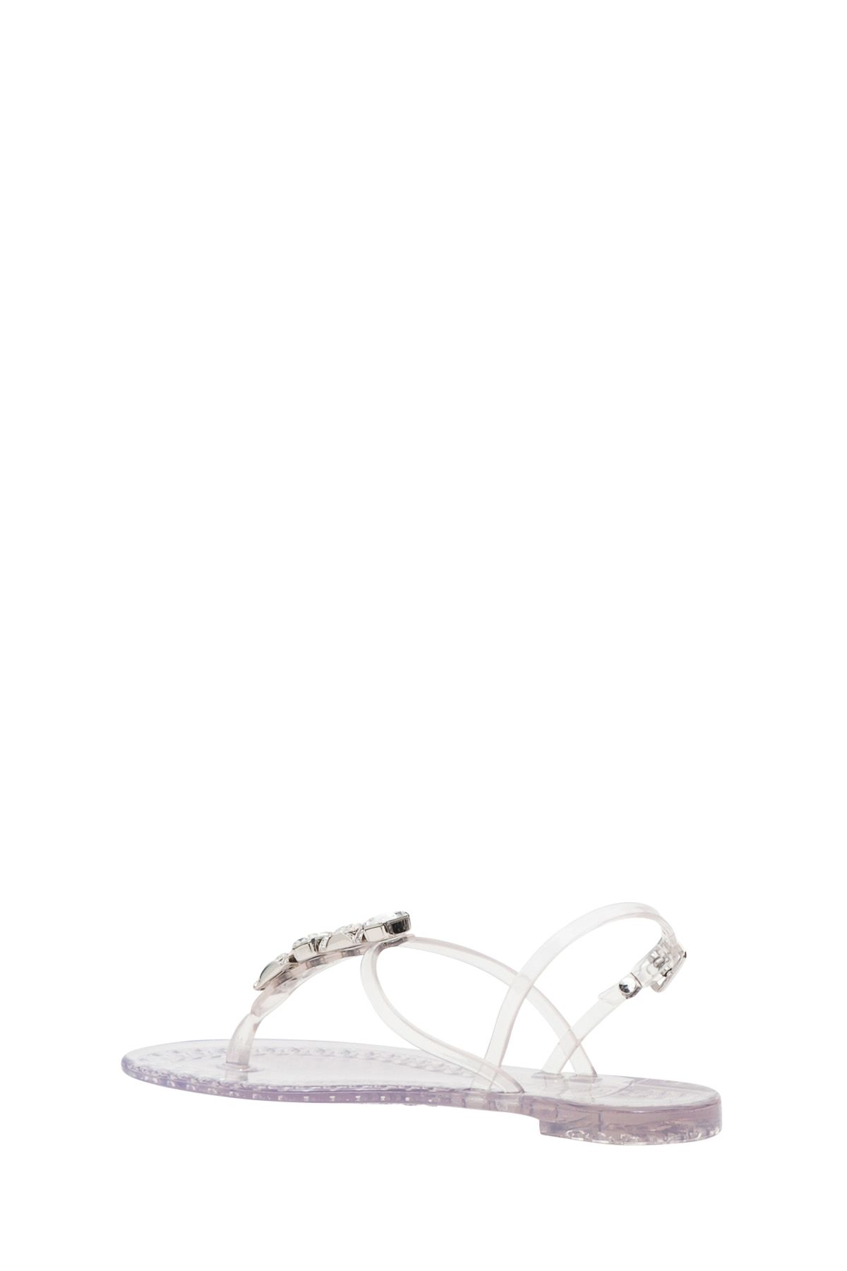 ea5018164429 Casadei Casadei Jelly Sandals With Stones - White - 10857713