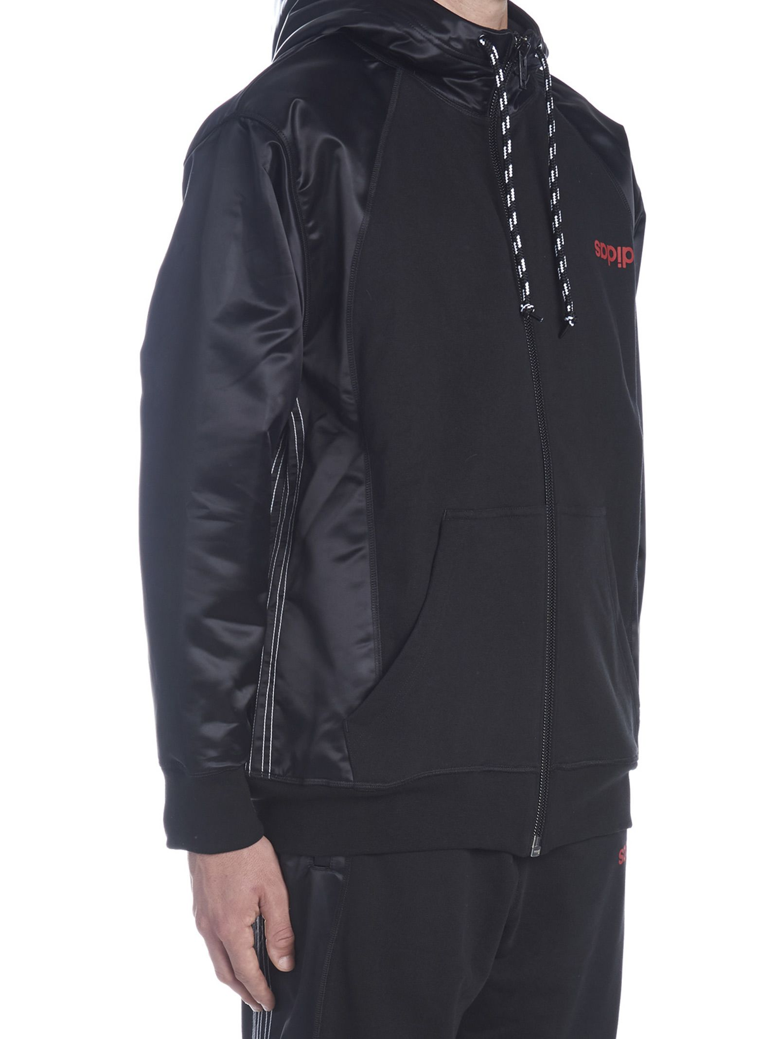 meet 2b001 6c1bc ... Adidas Originals by Alexander Wang aw Hoodie - Black ...