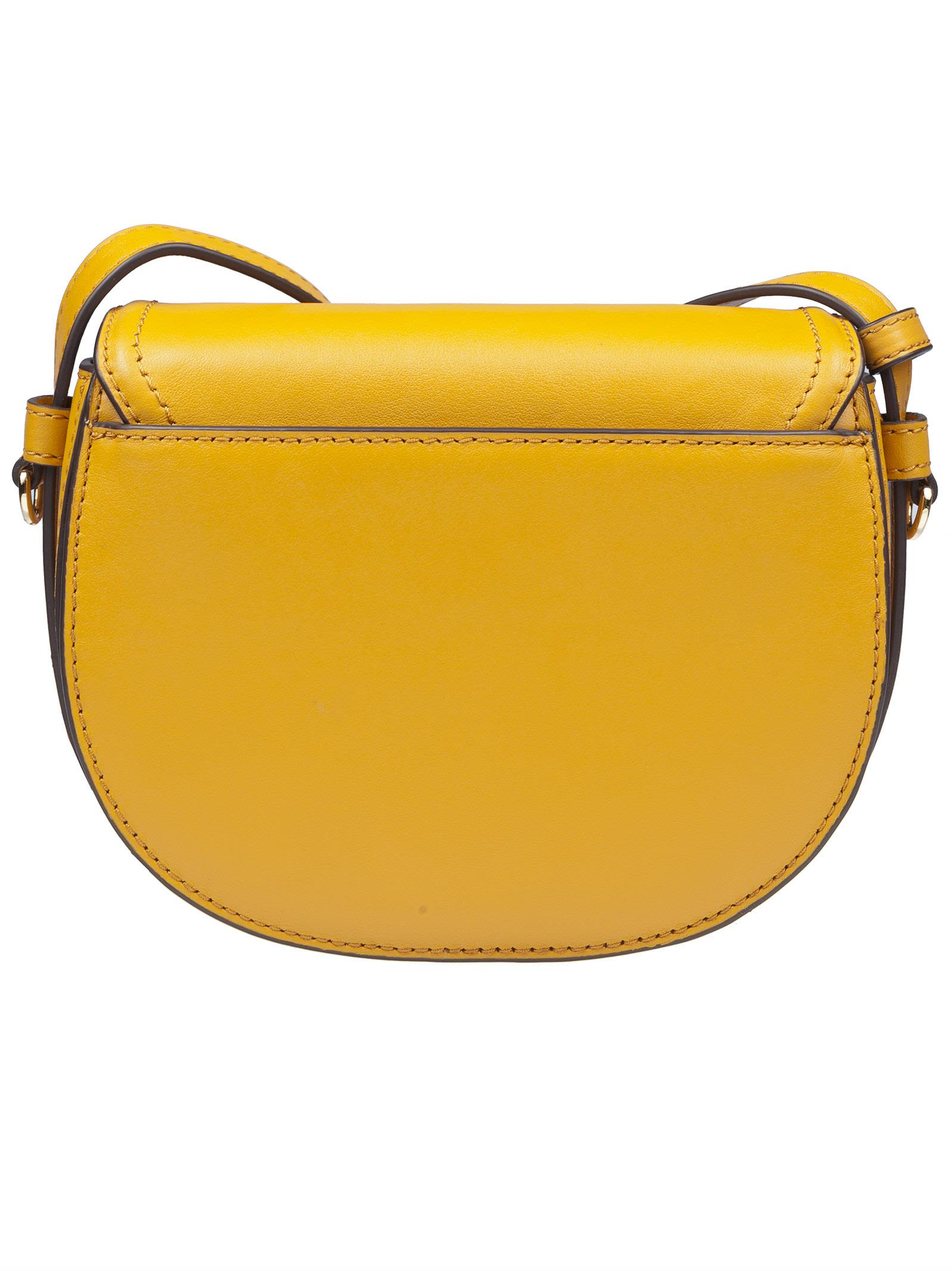 20de681eb313 ... new style michael kors cary mini shoulder bag marigold 267dc 5c0a5