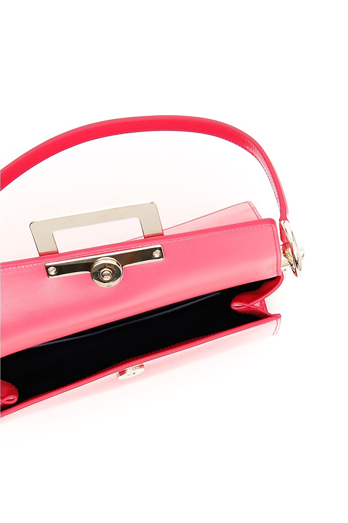 23d0ff4eb84a ... Roger Vivier Miss Viv Carré Small Bag - ROSA ALTEA