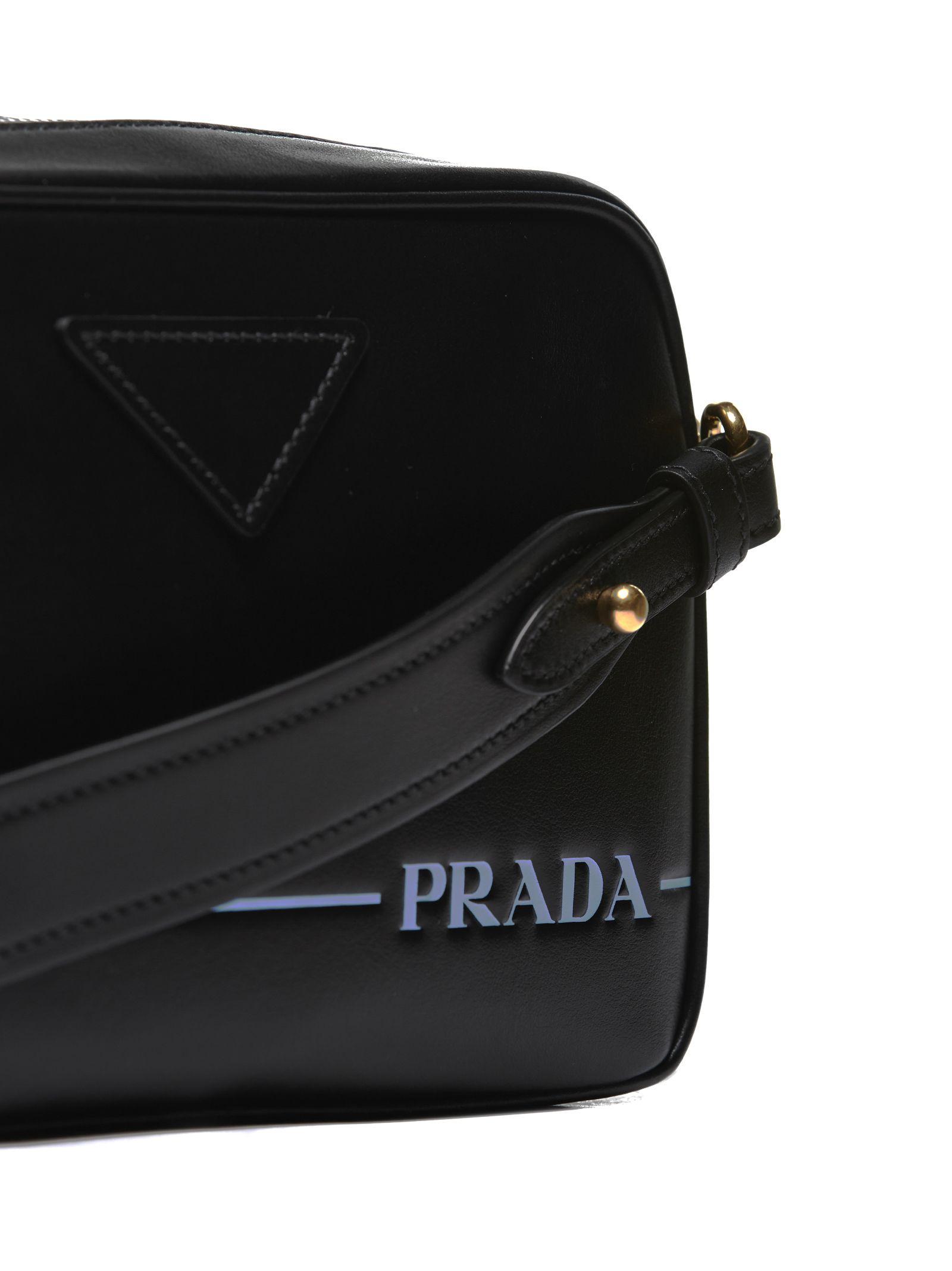 afa3c793647a80 Prada Prada Mirage Shoulder Bag - Black - 10642834   italist