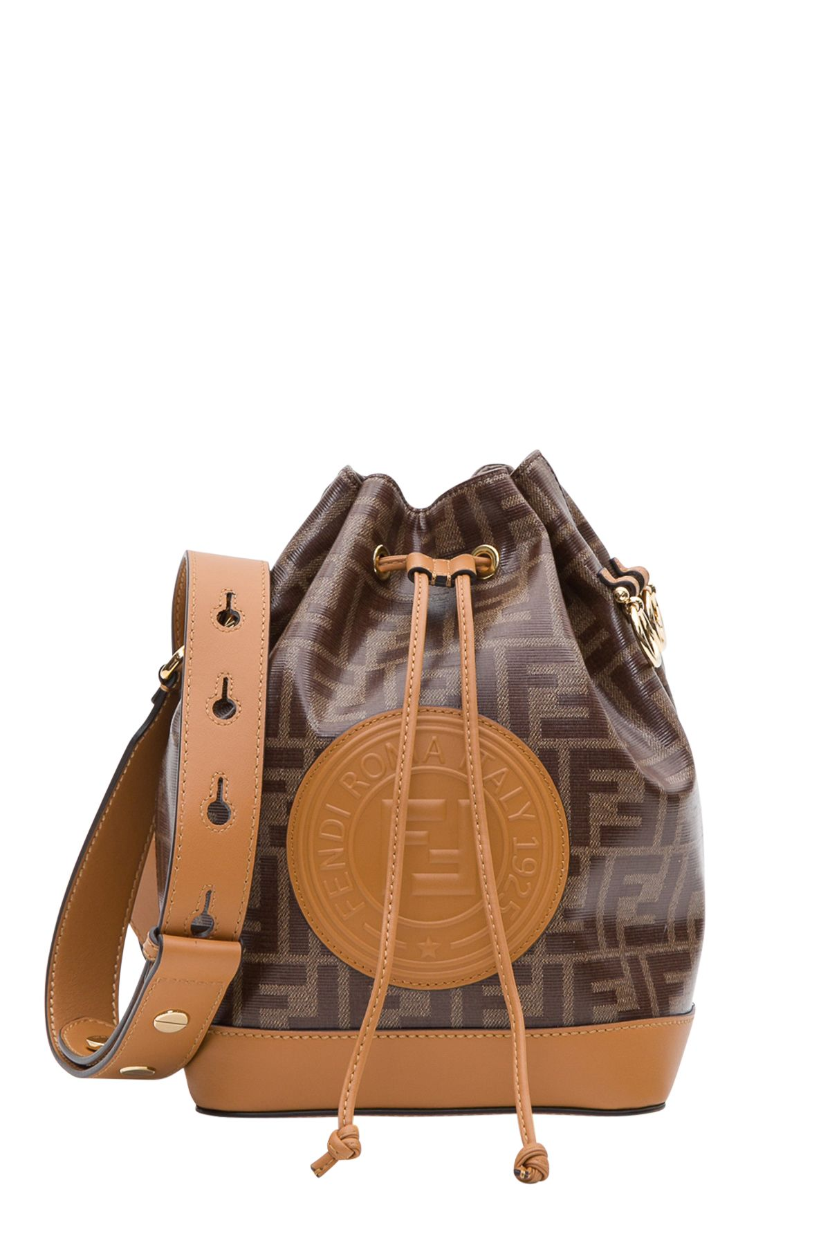 7e9032fe49e4 Fendi Fendi Mon Tresor Bucket Bag - Marrone - 10823081