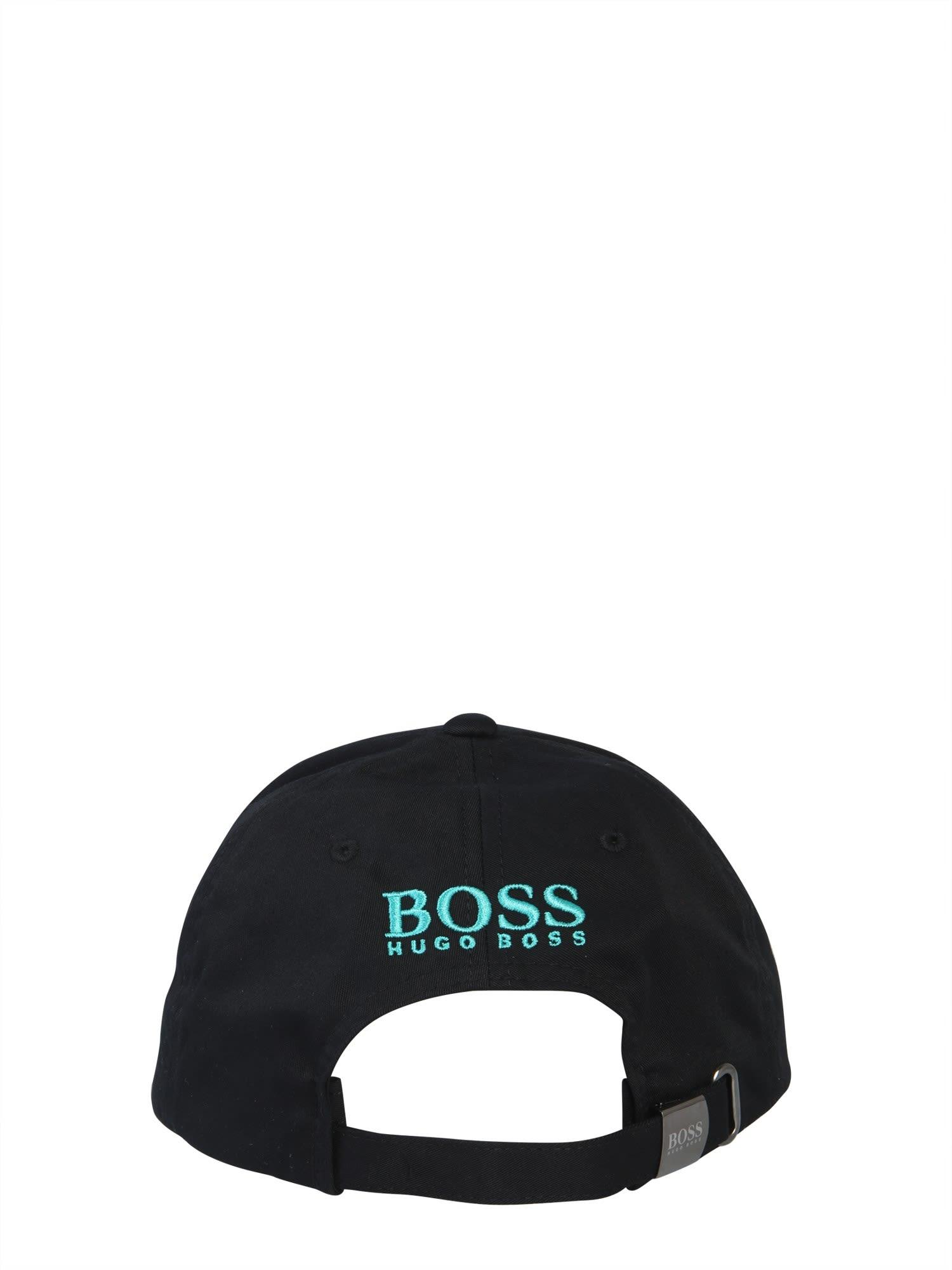 45b880733db5b9 Hugo Boss Hugo Boss Baseball Cap - NERO - 10971374 | italist