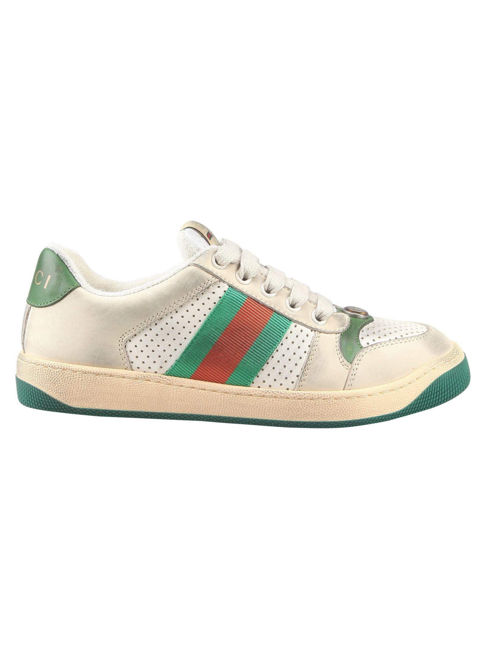 b8a9b3173c4 Gucci Gucci Screener Sneakers - Basic - 10885236