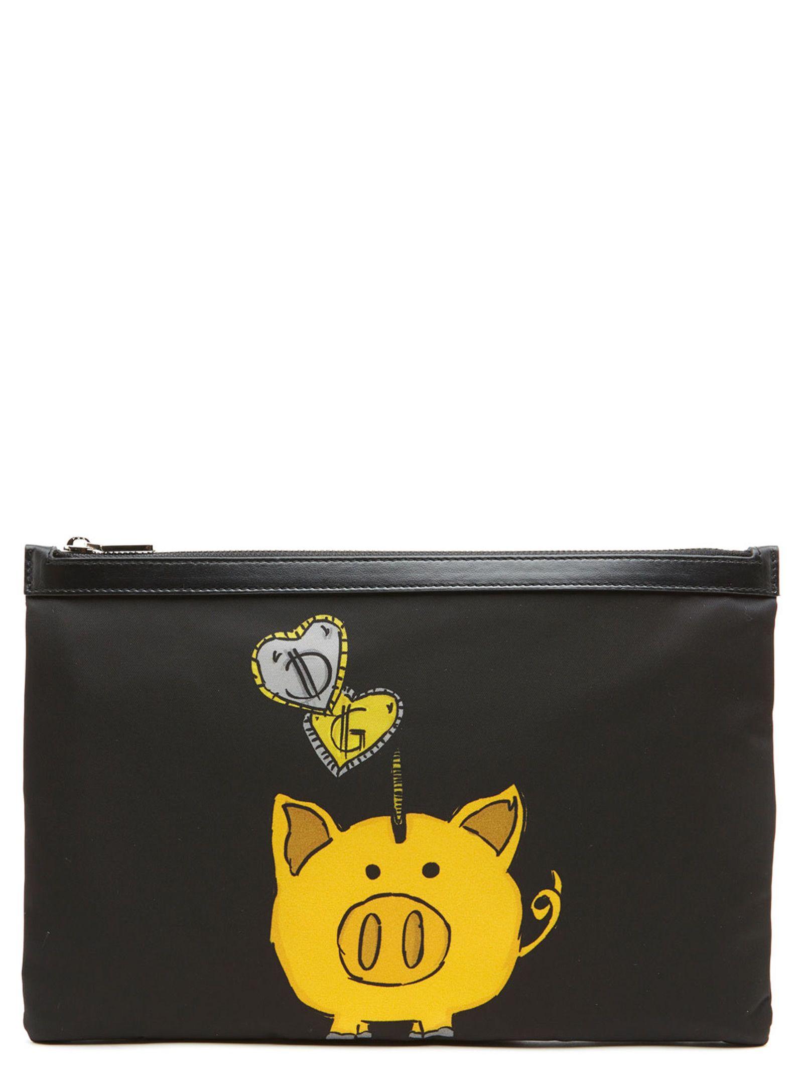 9e27267a29 Dolce   Gabbana Dolce   Gabbana  piggy Bank  Bag - Black - 10824441 ...