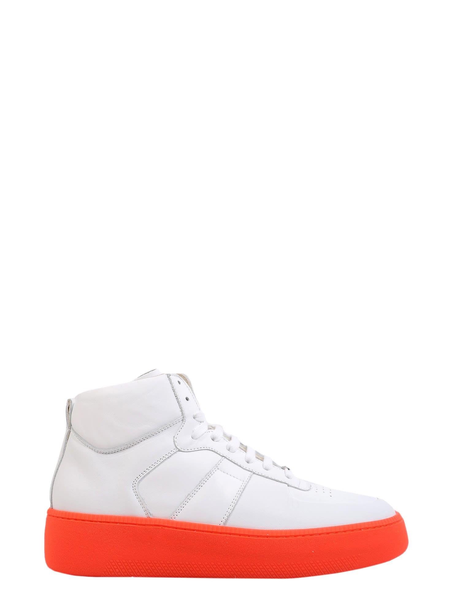 b3034db134a0 Maison Margiela Maison Margiela High Top Sneakers - BIANCO ...