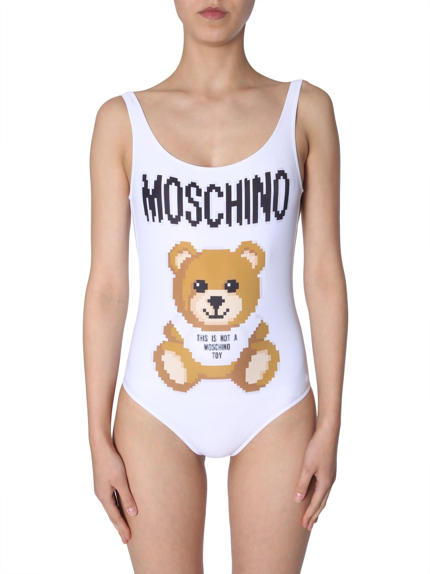 f184a349f75dc Moschino Moschino Swimsuit - BIANCO - 10970252 | italist
