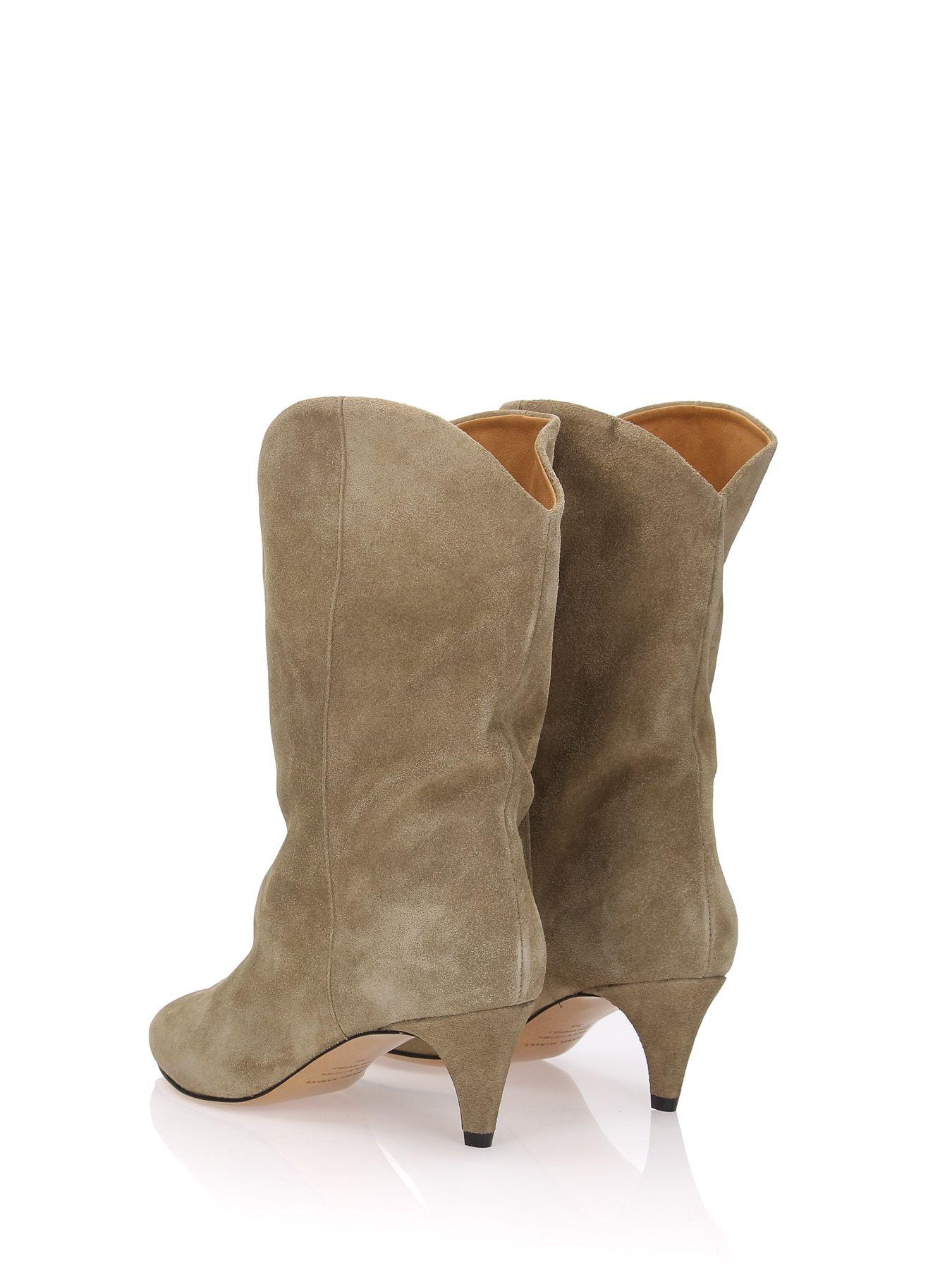 f1c3bb2bb8 Isabel Marant Étoile Isabel Marant Étoile Dernee Ankle Boots - Beige ...