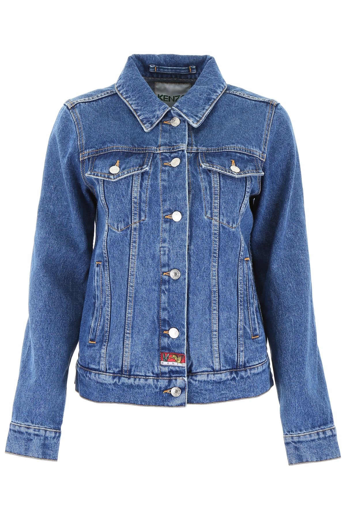 aa3dc2d21 Kenzo Kenzo Bamboo Tiger Denim Jacket - INK (Blue) - 10923484 | italist