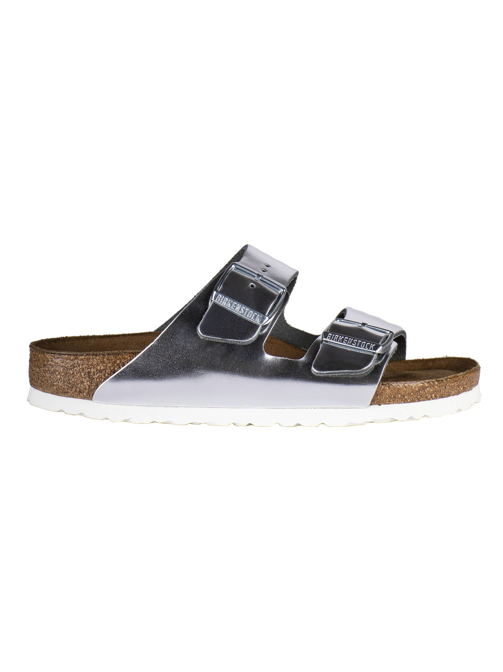 7fec74e556367a Birkenstock Birkenstock Double Strap Sandals - Silver - 10840809 ...