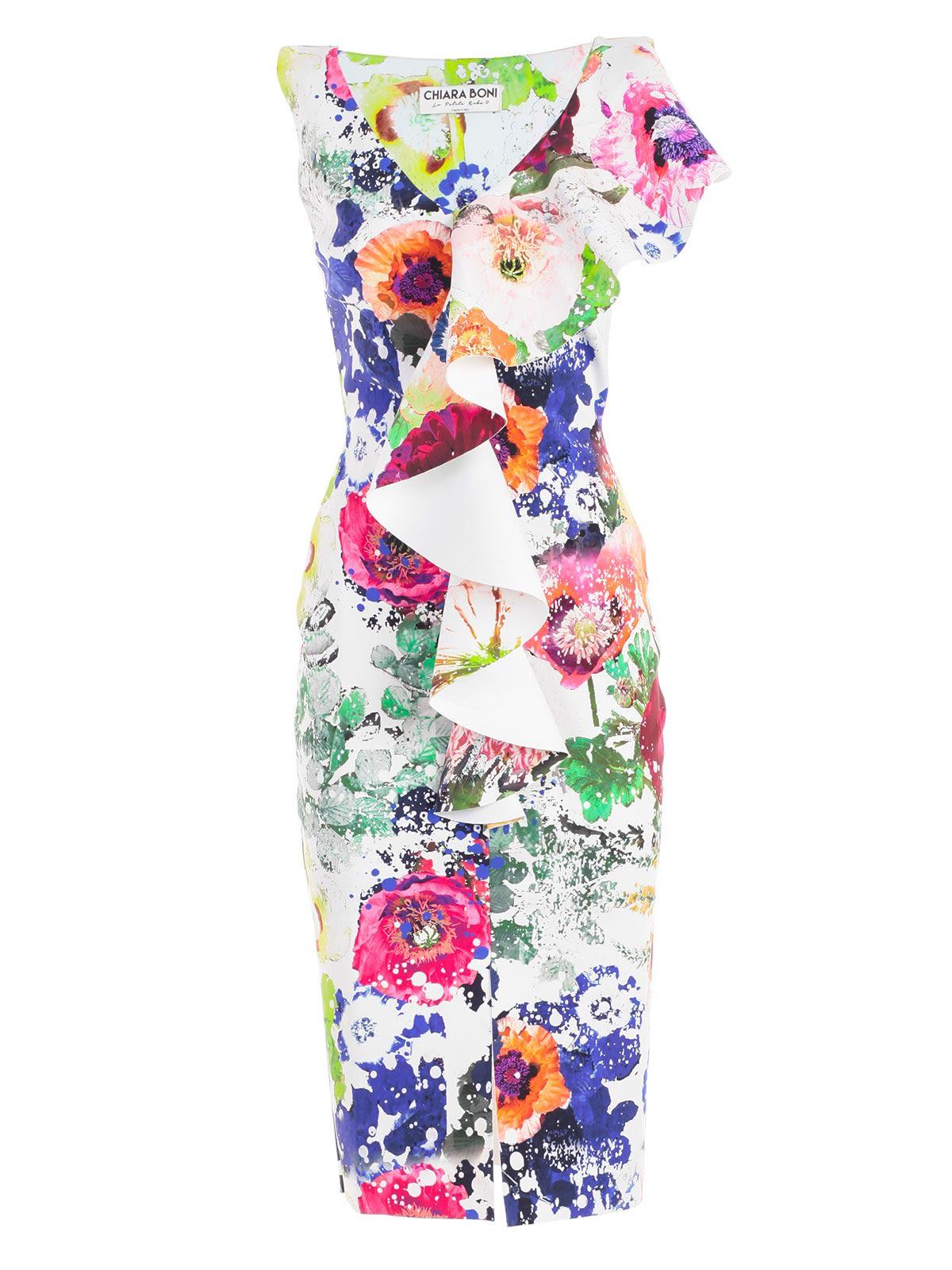 07f241cc6a0 La Petit Robe Di Chiara Boni Chiara Boni La Petite Robe Boudicea Print Dress  - Summer ...