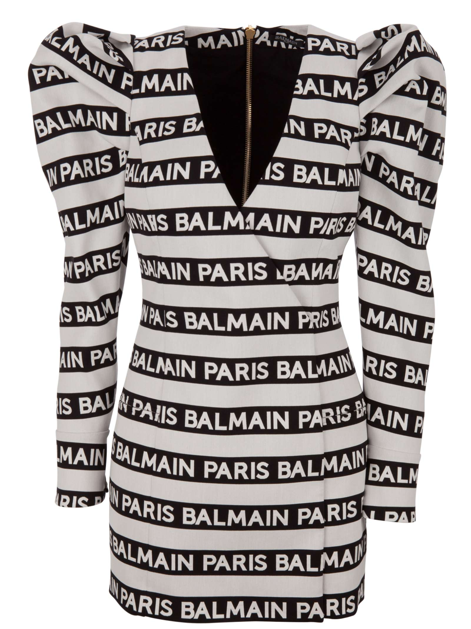 0611e78c Balmain Balmain Paris Dress - Black/white - 10822723 | italist