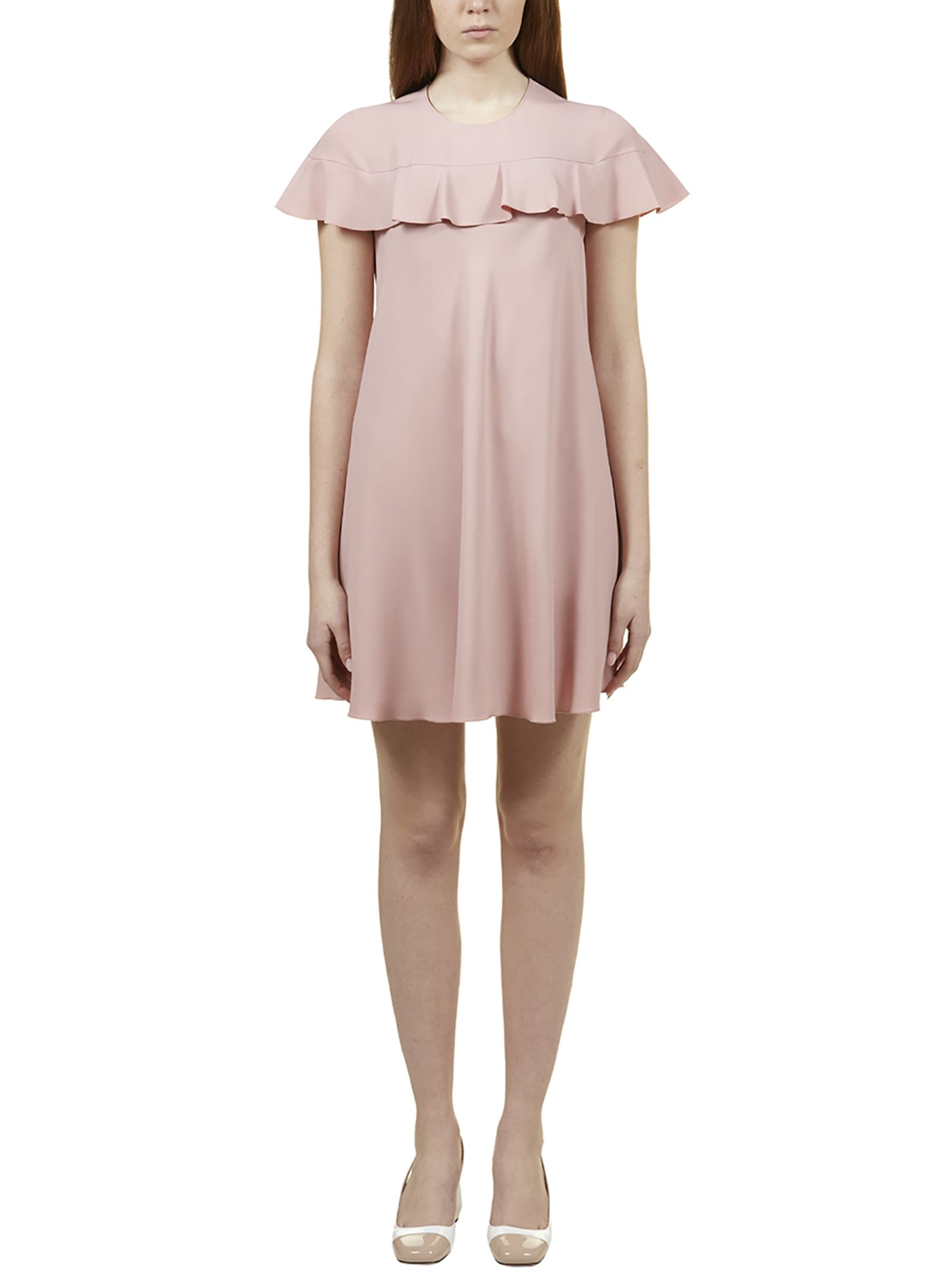 eaa425b1229 RED Valentino Red Valentino Ruffle Detail Mini Dress - Light rose ...