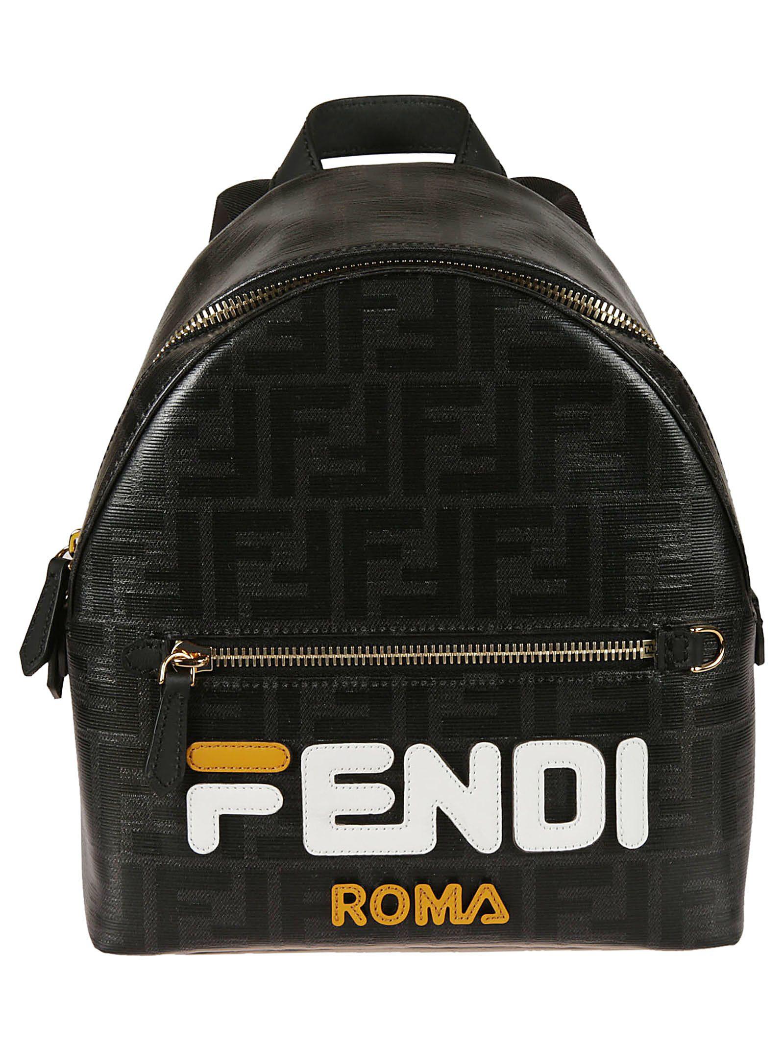 e5d836fdc3395 Fendi Fendi Mini Logo Backpack - Basic - 10854404